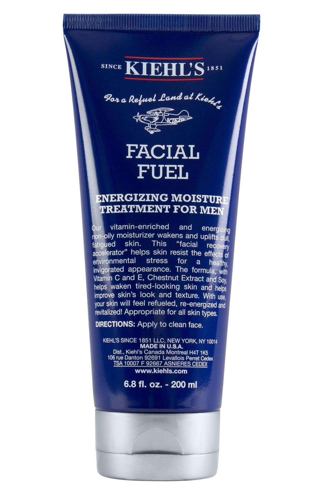 KIEHL'S SINCE 1851, 'Facial Fuel' Energizing Moisture Treatment for Men, Alternate thumbnail 4, color, 000