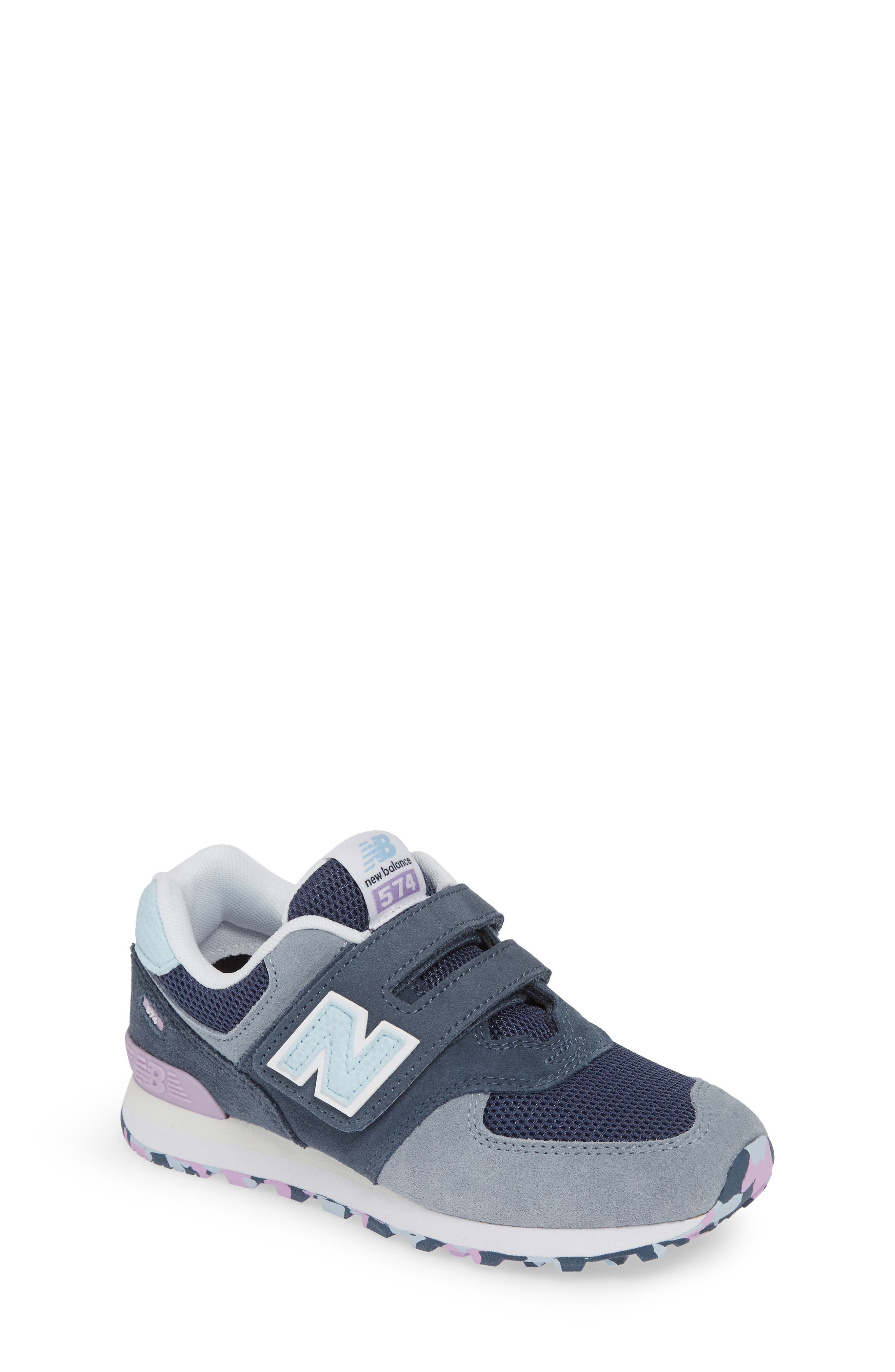Boys New Balance 574 Retro Surf Sneaker Size 15 W  Blue