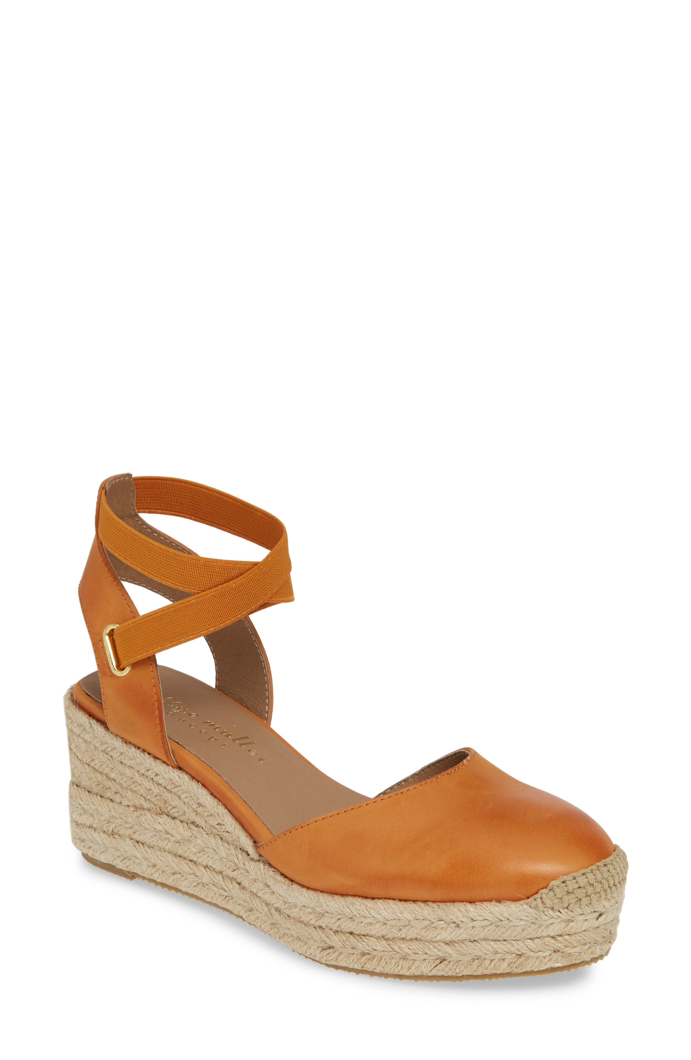 Bettye Muller Concepts Reba Espadrille Wedge, Brown