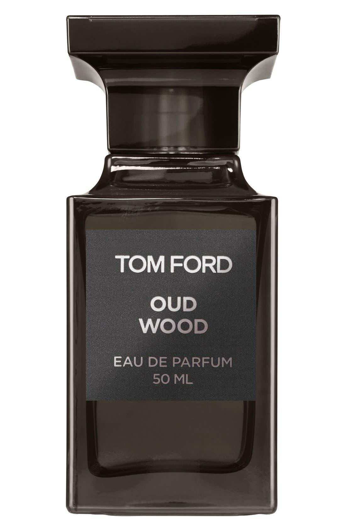 TOM FORD, Private Blend Oud Wood Eau de Parfum, Main thumbnail 1, color, NO COLOR