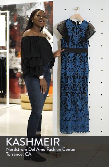 Rosalynn Lace Midi Dress, sales video thumbnail