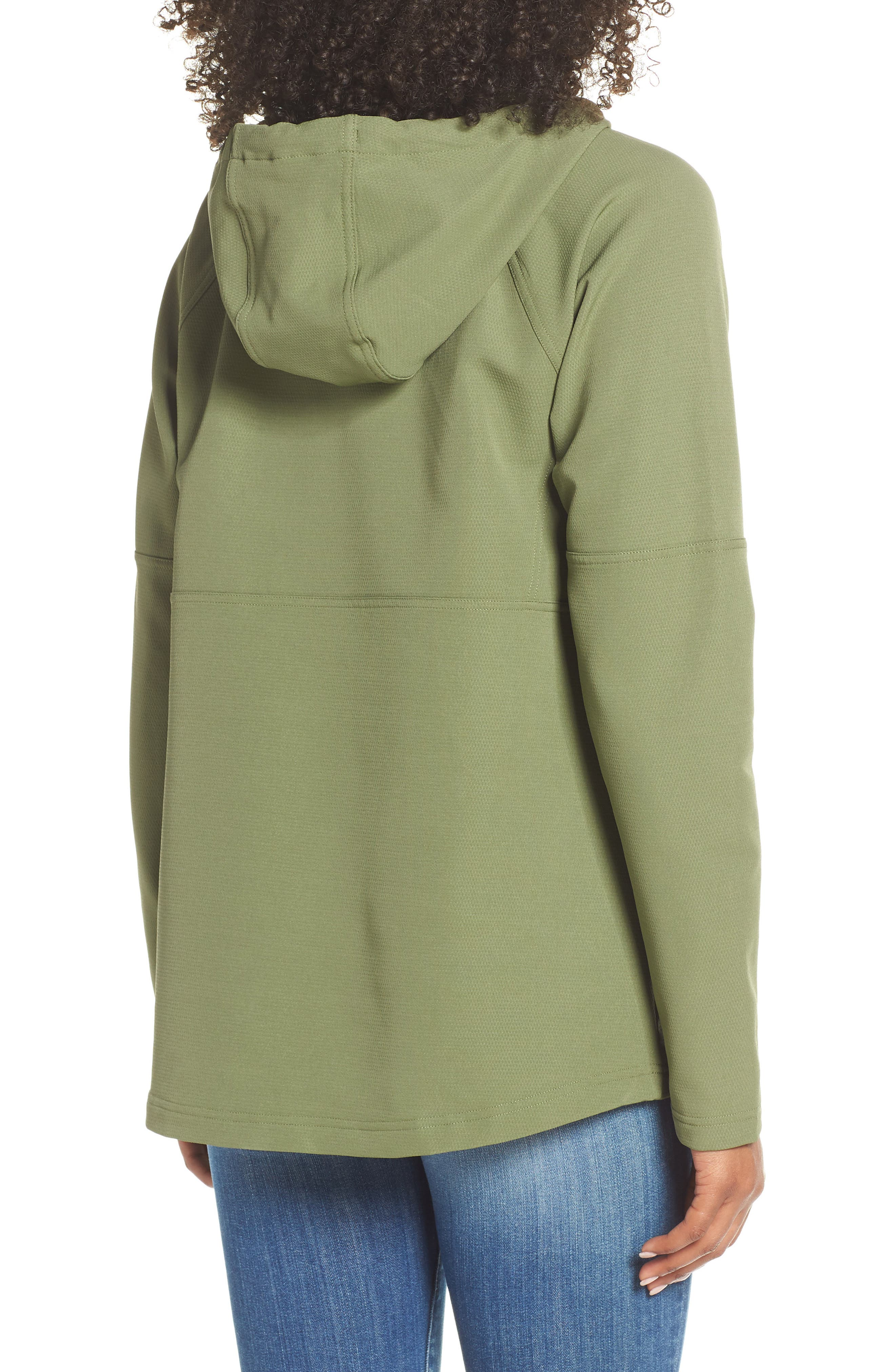 THE NORTH FACE, Tekno Ridge Hoodie, Alternate thumbnail 2, color, FOUR LEAF CLOVER