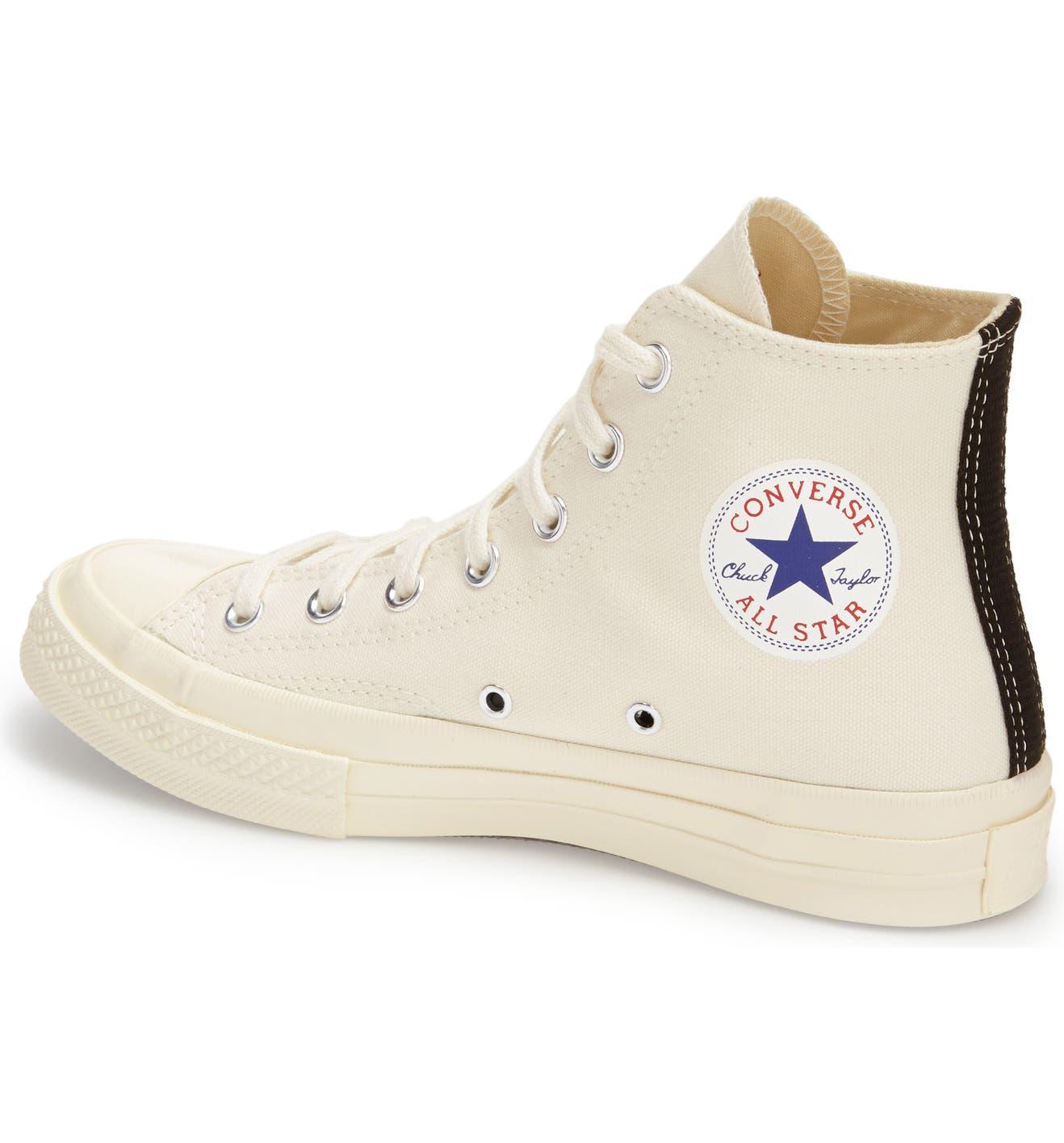 ad1c174dfd66 Comme des Garçons PLAY x Converse Chuck Taylor® Hidden Heart High Top  Sneaker (Men)