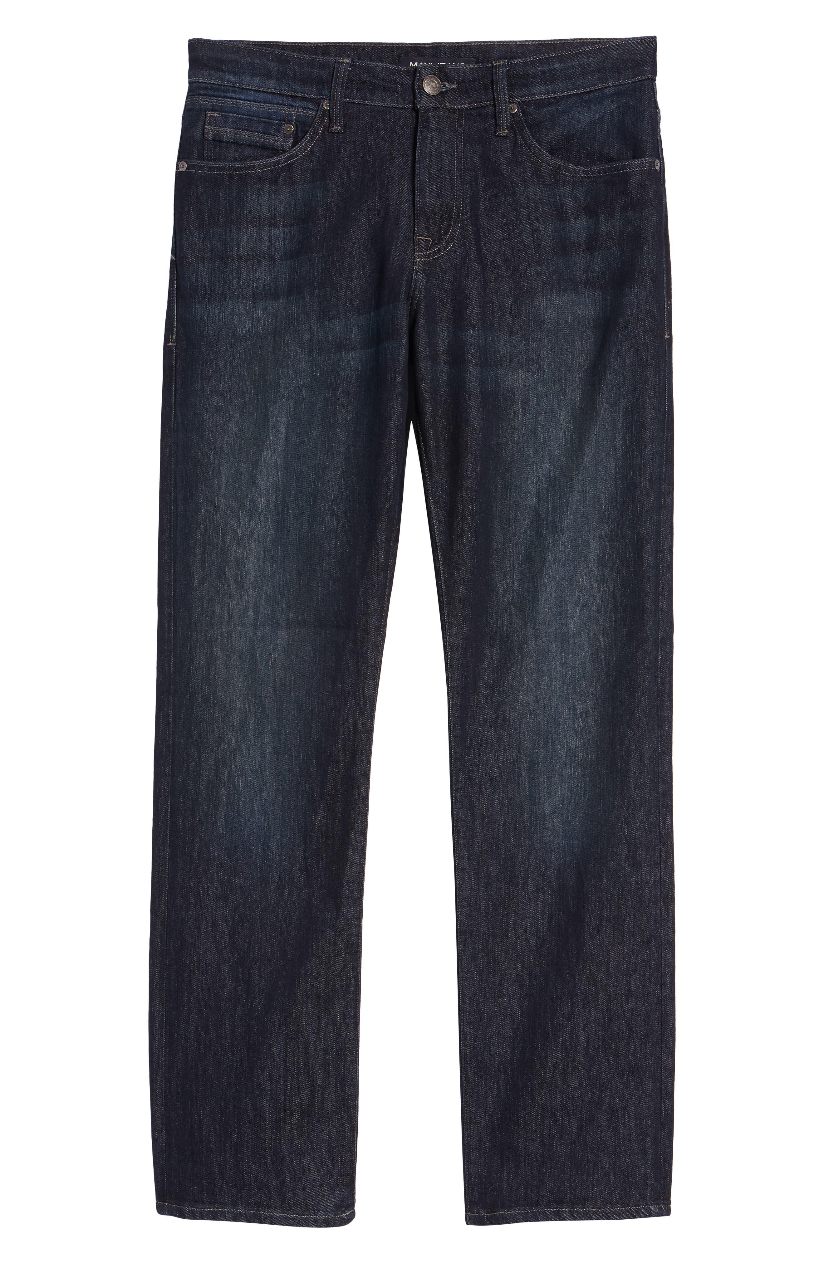 MAVI JEANS, 'Matt' Relaxed Fit Jeans, Alternate thumbnail 2, color, DEEP STANFORD COMFORT