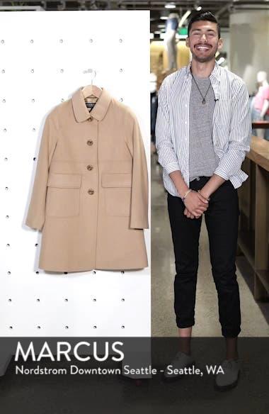 Wool Walking Coat, sales video thumbnail