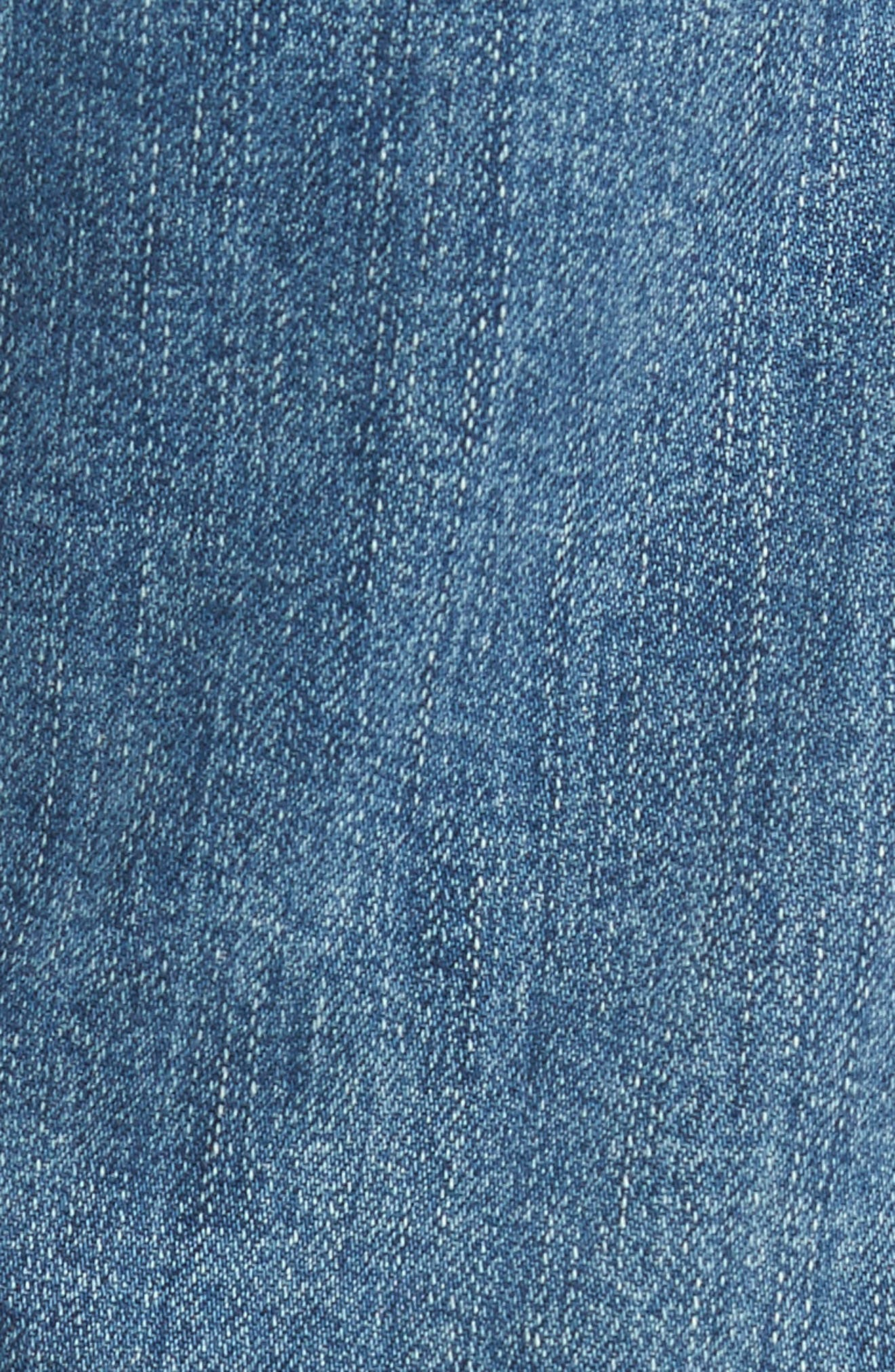 7 FOR ALL MANKIND<SUP>®</SUP>, Luxe Performance - Carsen Straight Leg Jeans, Alternate thumbnail 5, color, HOMAGE