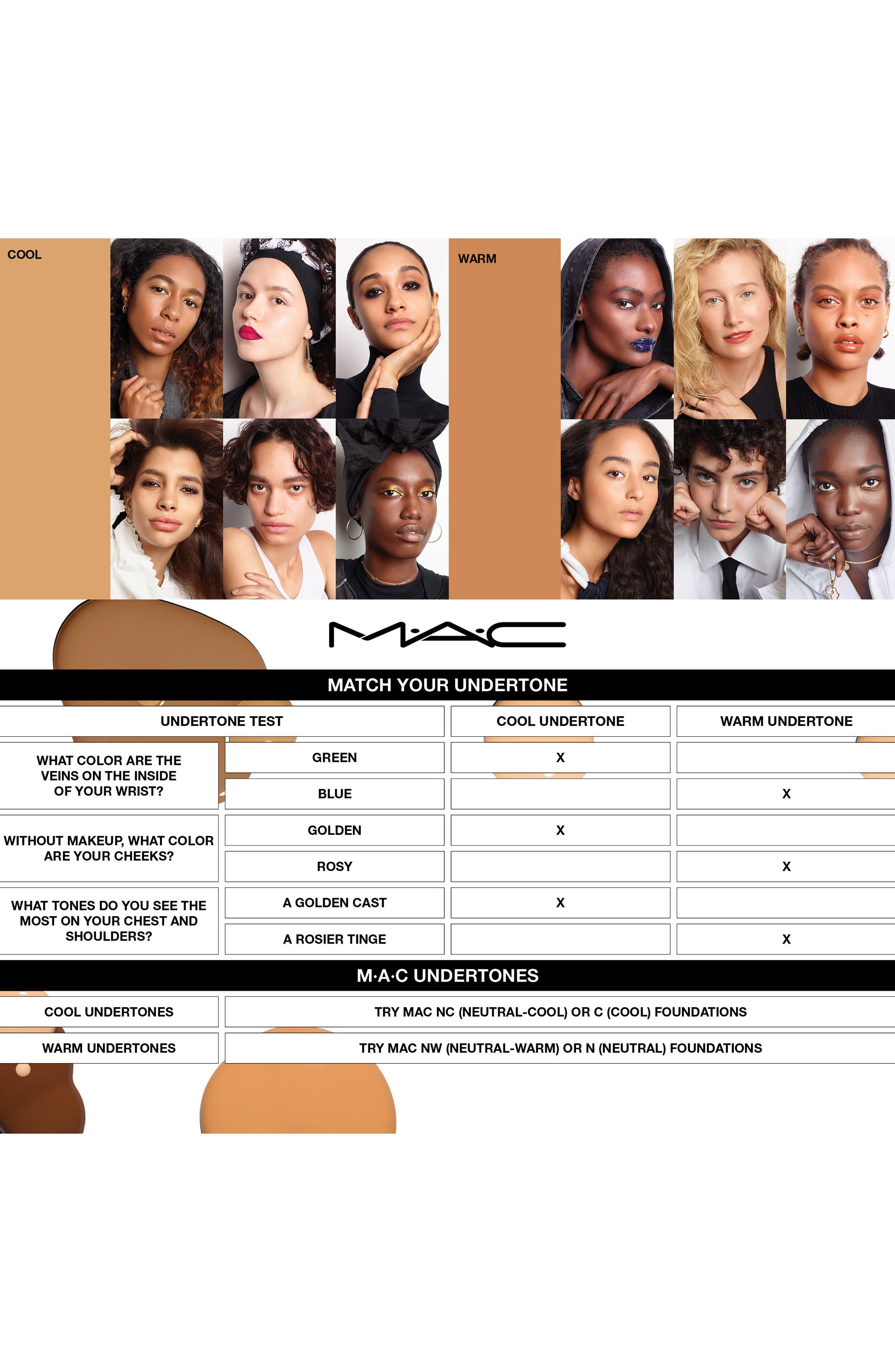 MAC COSMETICS, MAC M·A·C Studio Fix Fluid Foundation SPF 15, Alternate thumbnail 8, color, NW20 WARM NEUTRAL ROSY