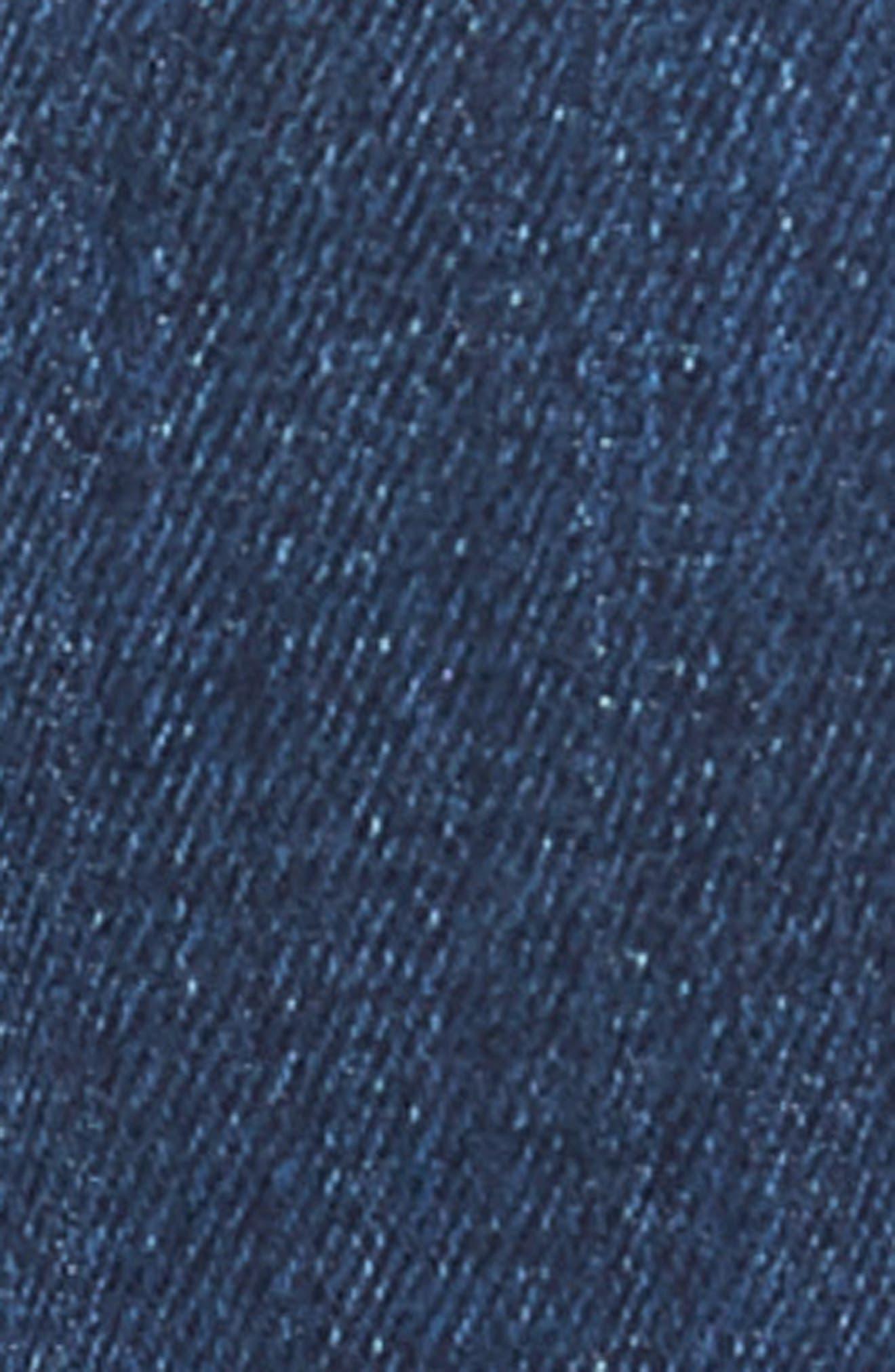 MAVI JEANS, Zach Straight Leg Jeans, Alternate thumbnail 6, color, DARK USED CAPITOL HILL