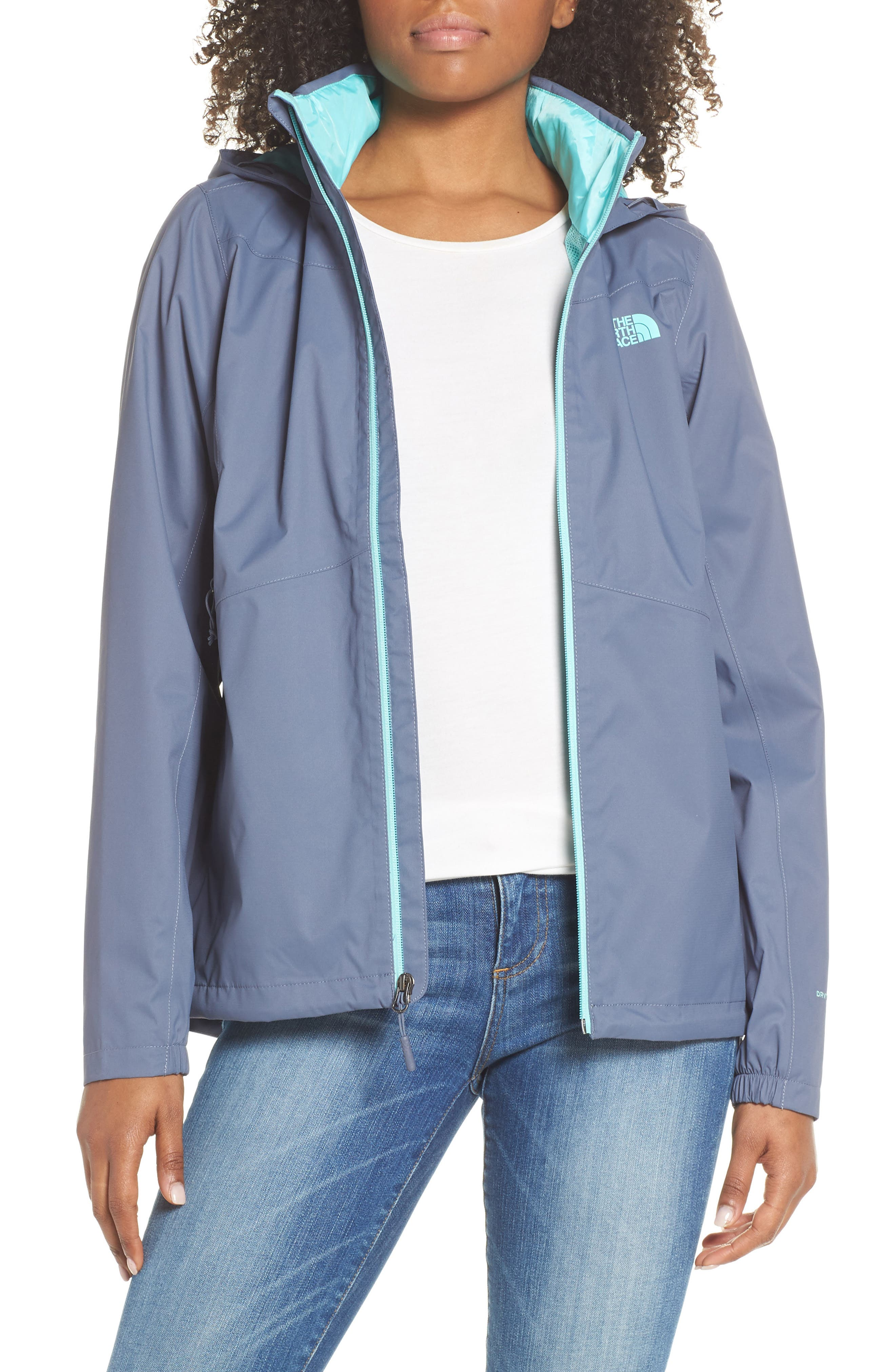 THE NORTH FACE Resolve Plus Waterproof Jacket, Main, color, GRISAILLE GREY/ GRISAILLE GREY