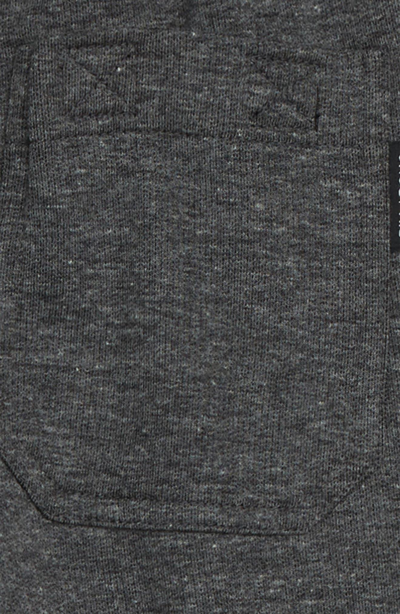 BILLABONG, All Day Sweatpants, Alternate thumbnail 3, color, BLACK