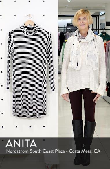 Essentials Stripe Mock Neck Dress, sales video thumbnail