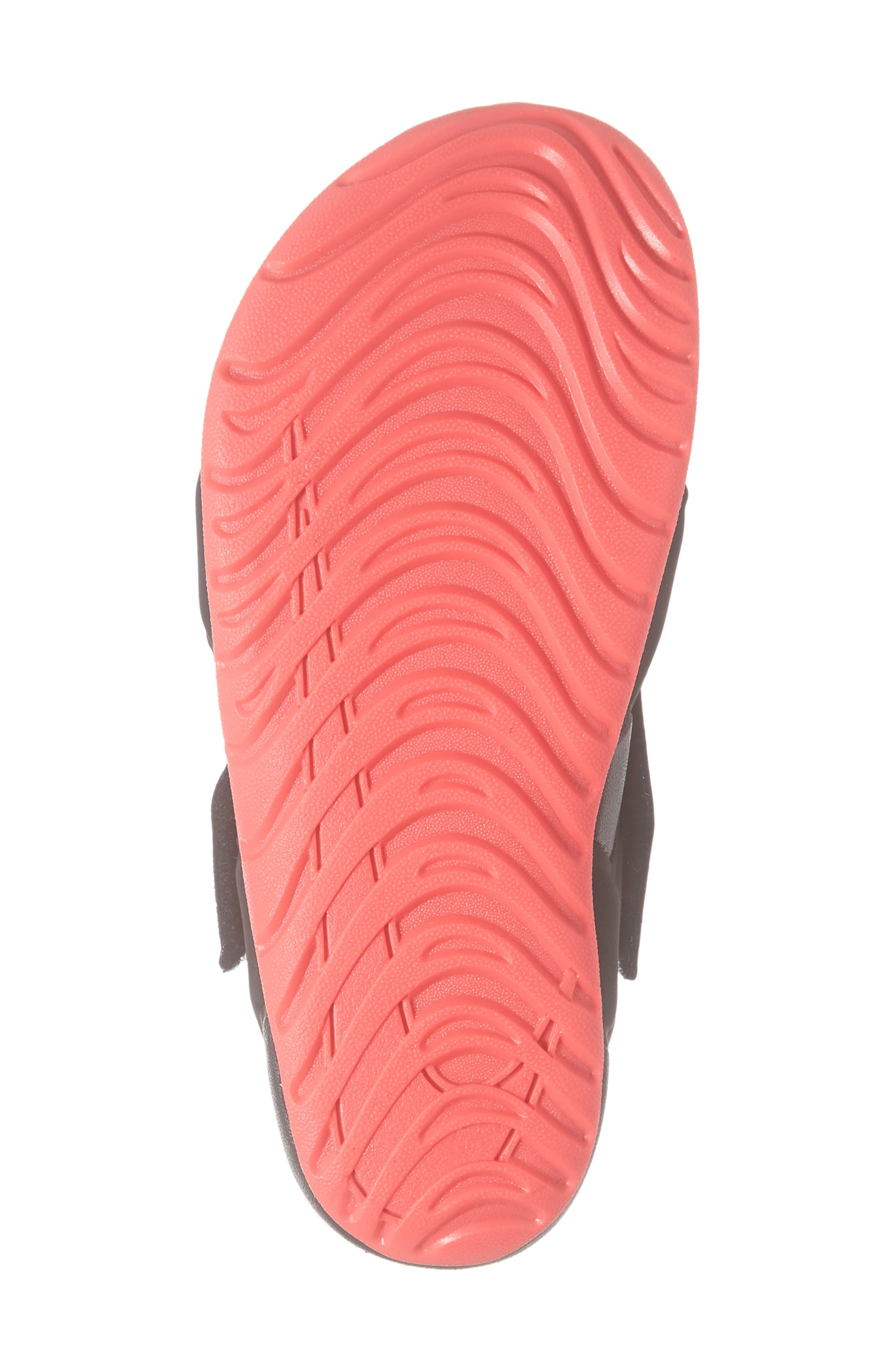 NIKE, Sunray Protect 2 Sandal, Alternate thumbnail 6, color, BLACK/ RACER PINK