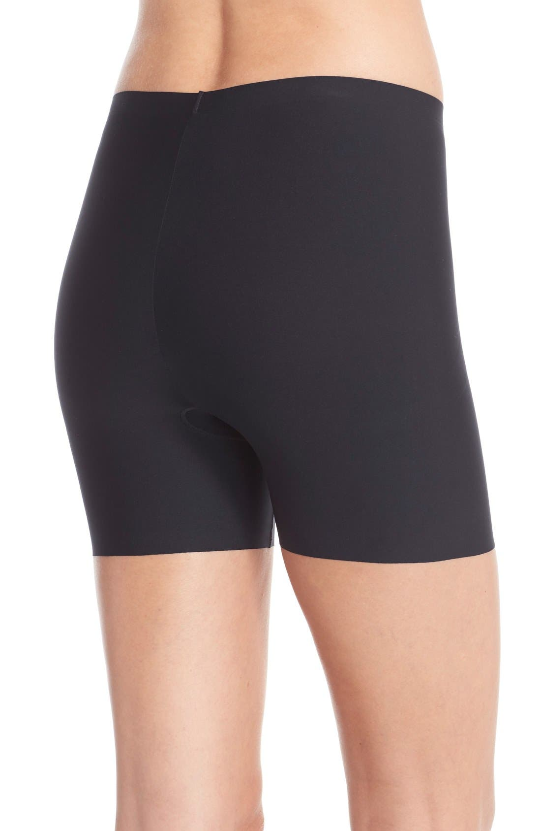 SPANX<SUP>®</SUP>, Thinstincts Girl Shorts, Alternate thumbnail 2, color, VERY BLACK