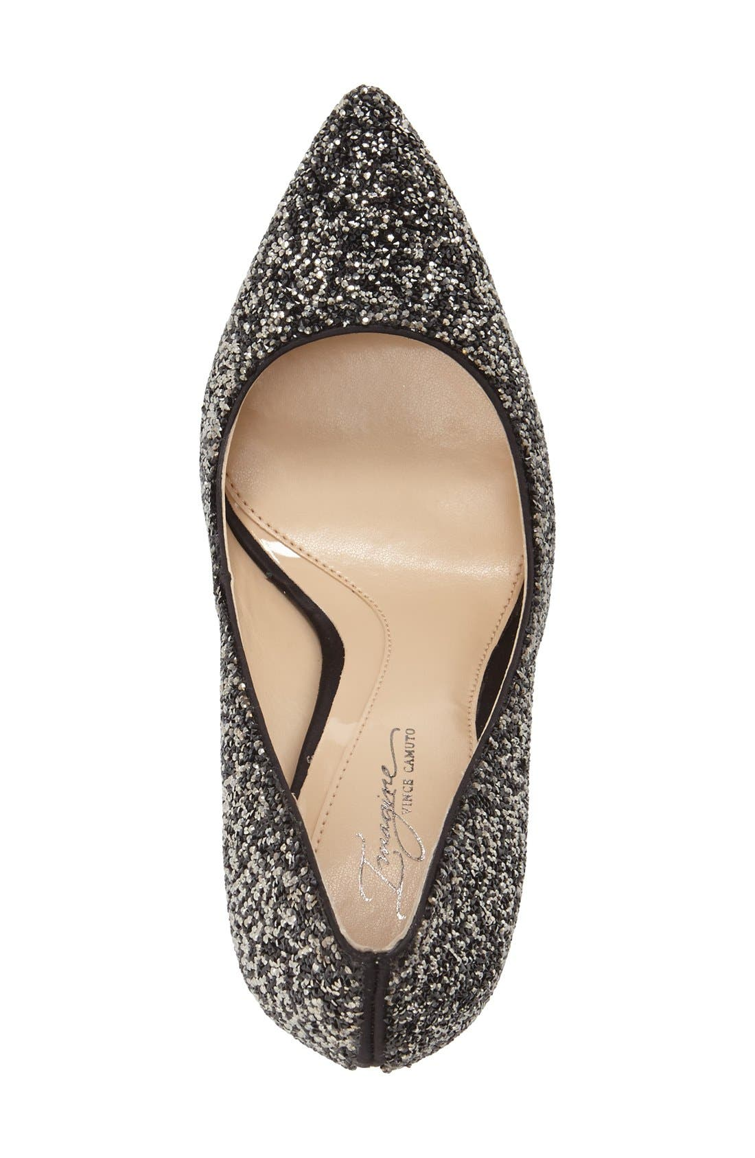 IMAGINE BY VINCE CAMUTO, 'Olson' Crystal Embellished Pump, Alternate thumbnail 3, color, 002