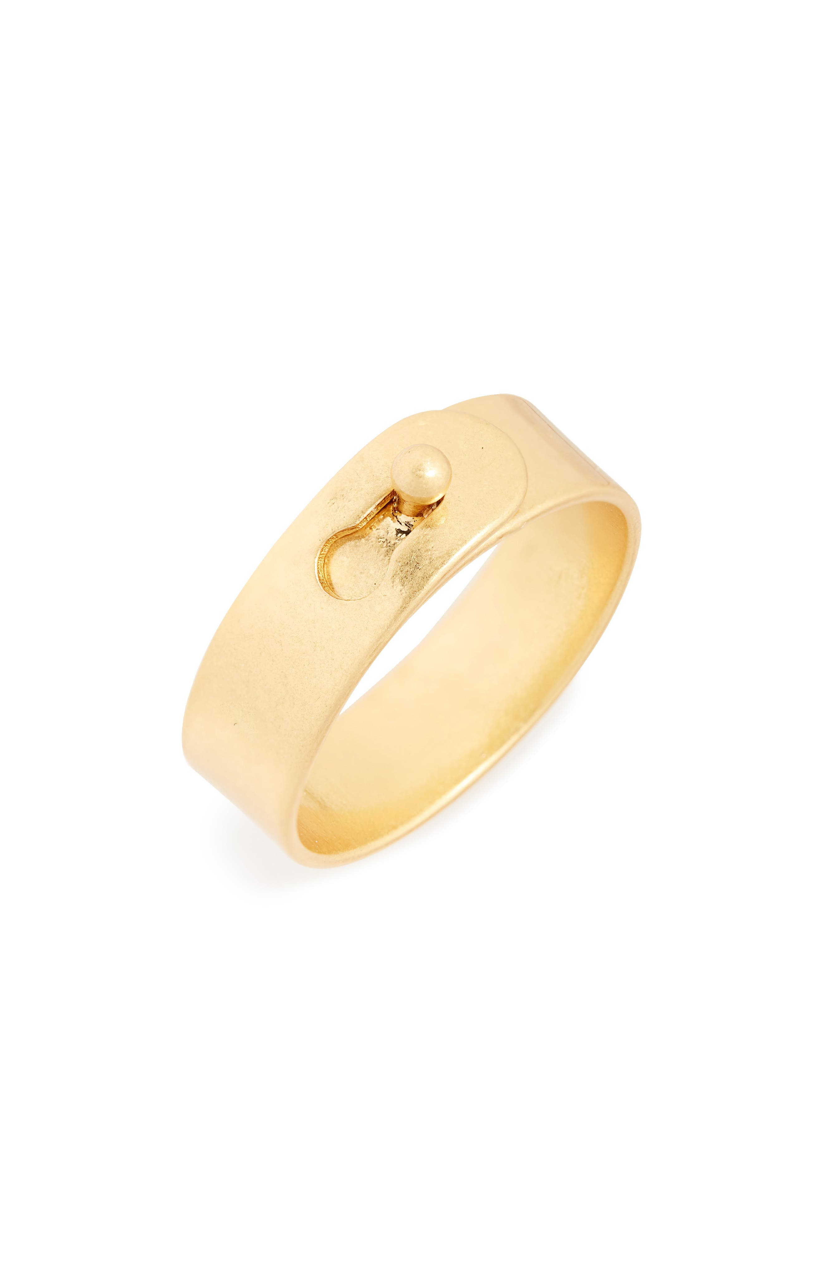 MADEWELL, Glider Ring, Main thumbnail 1, color, VINTAGE GOLD