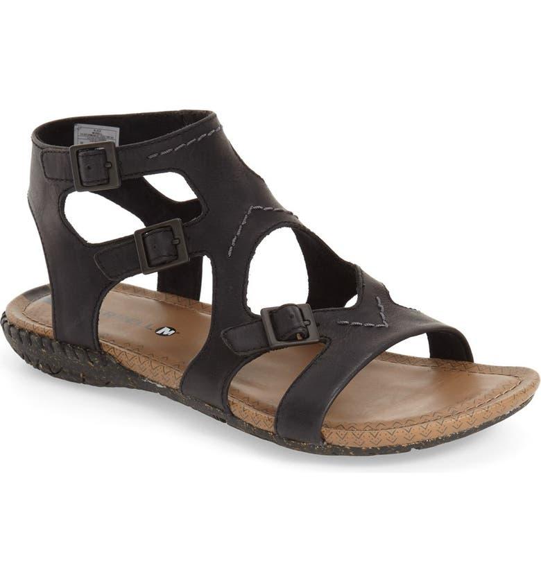 659655793bed Merrell  Whisper Buckle  Sandal (Women)