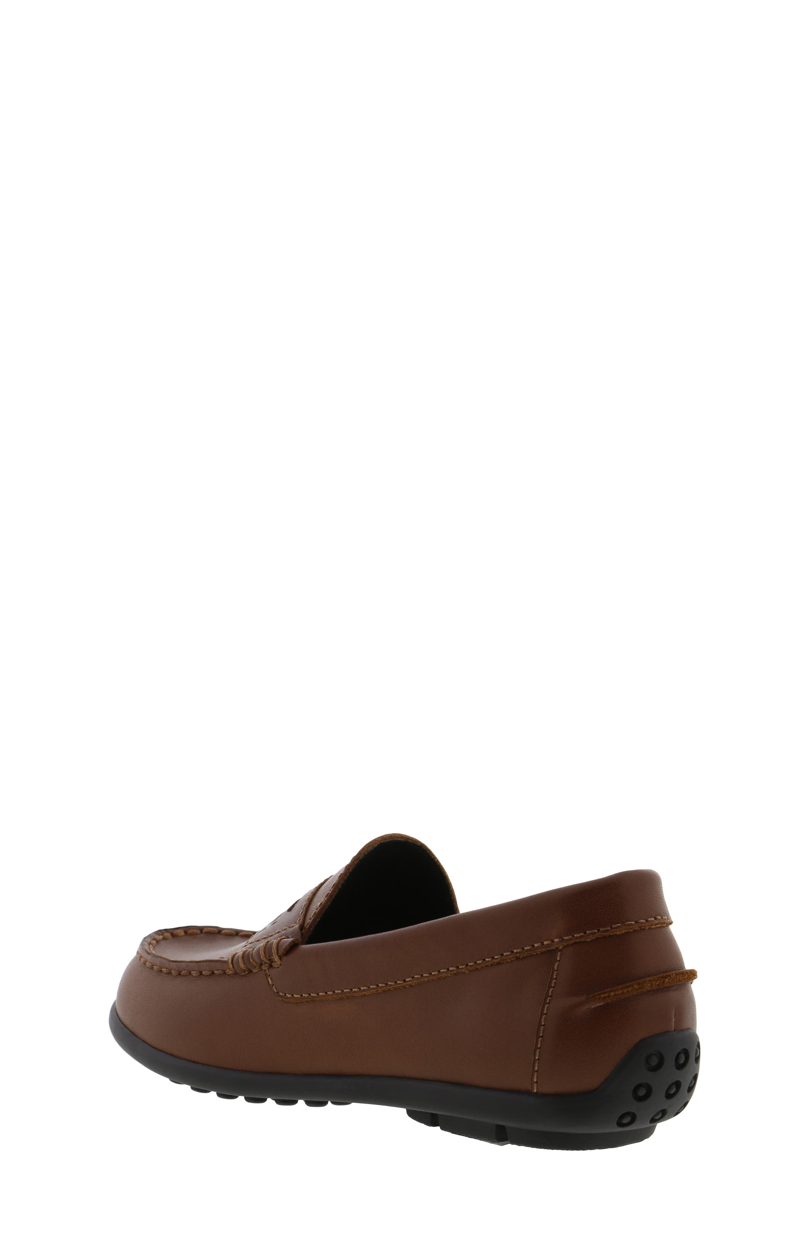 REACTION KENNETH COLE, Helio Gear Loafer, Alternate thumbnail 2, color, COGNAC