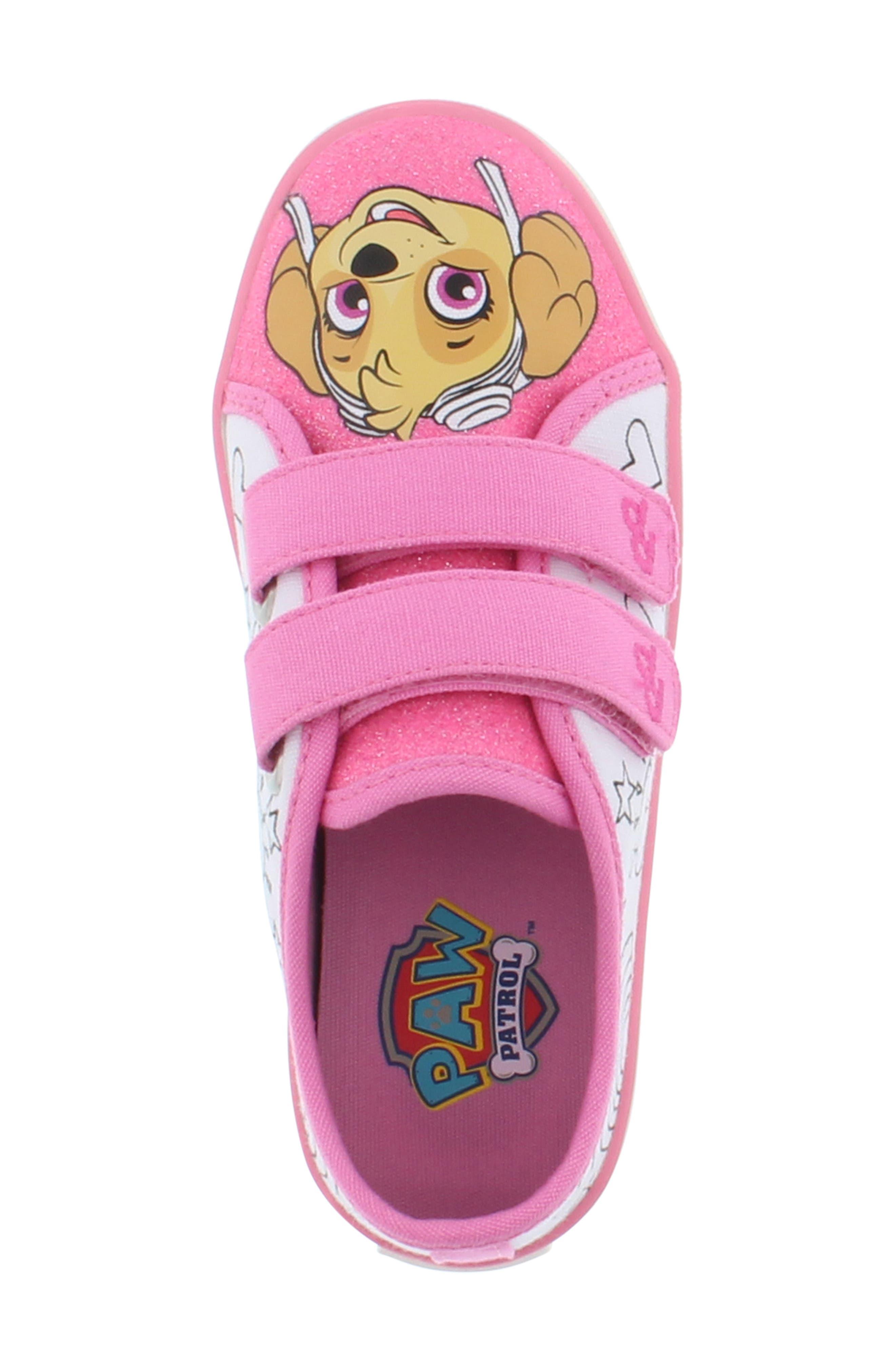PAW PATROL, Skye Color DIY Sneaker, Alternate thumbnail 3, color, 685
