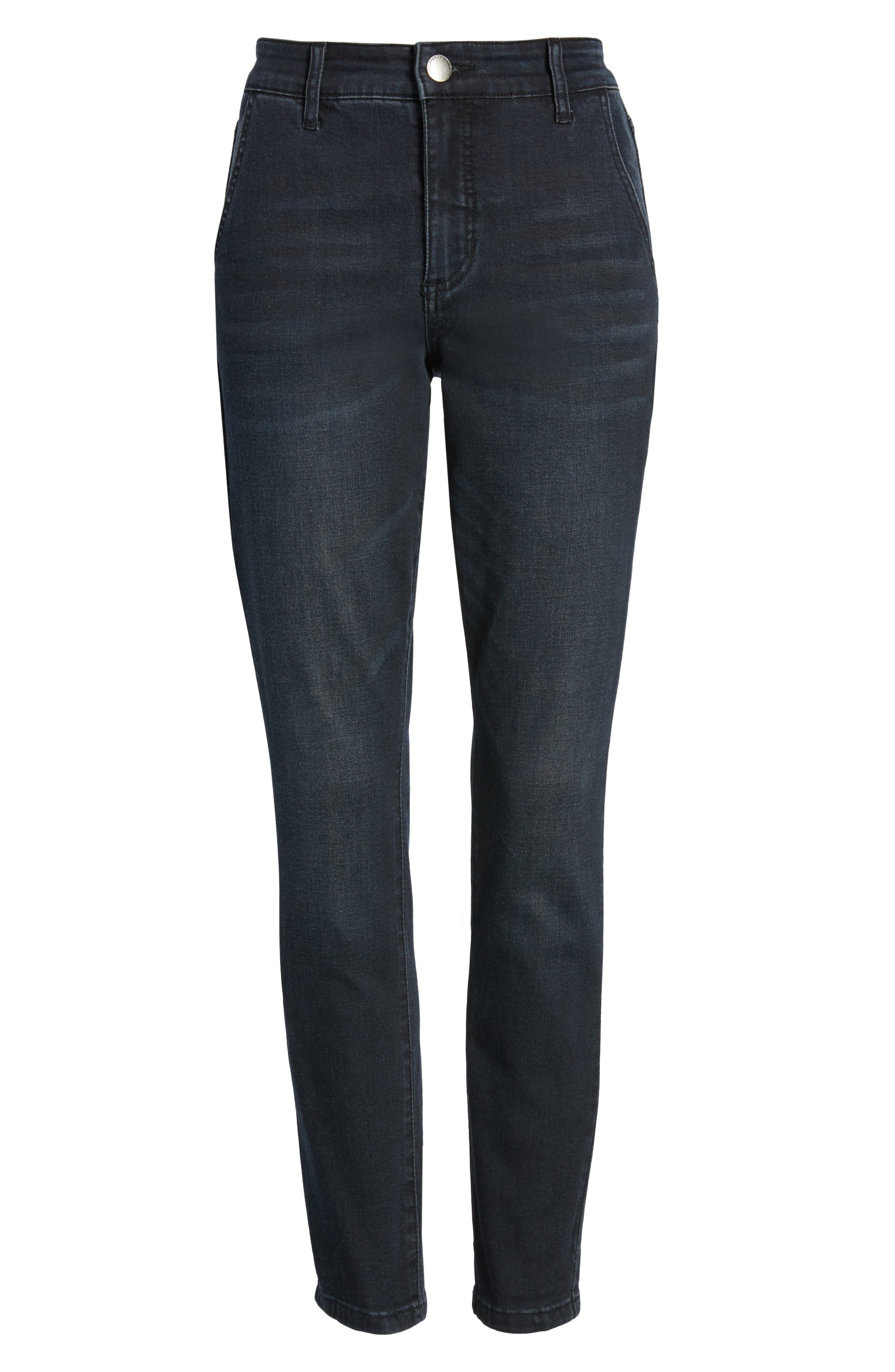 PROSPERITY DENIM, High Waist Ankle Boyfriend Jeans, Alternate thumbnail 7, color, ROCKER WASH