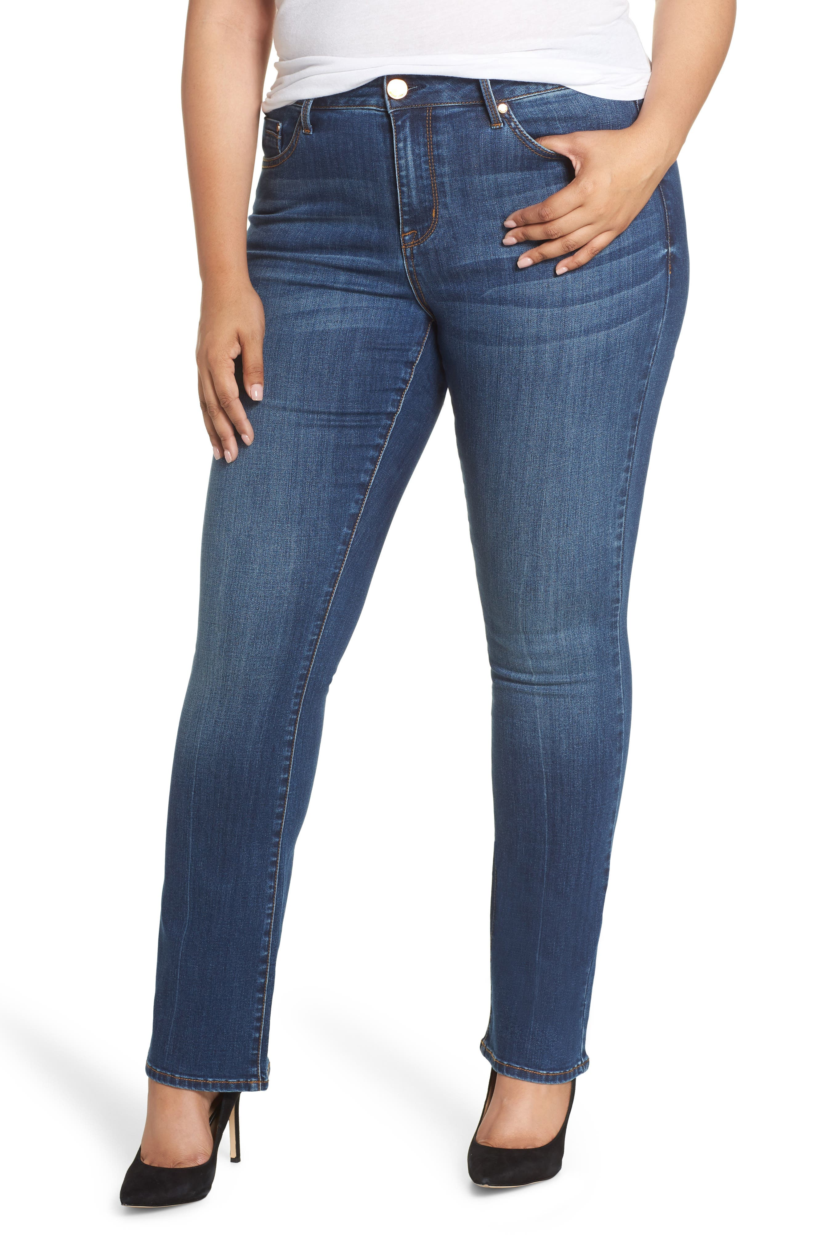 SEVEN7, Mid Rise Micro Bootcut Jeans, Main thumbnail 1, color, GENERATION