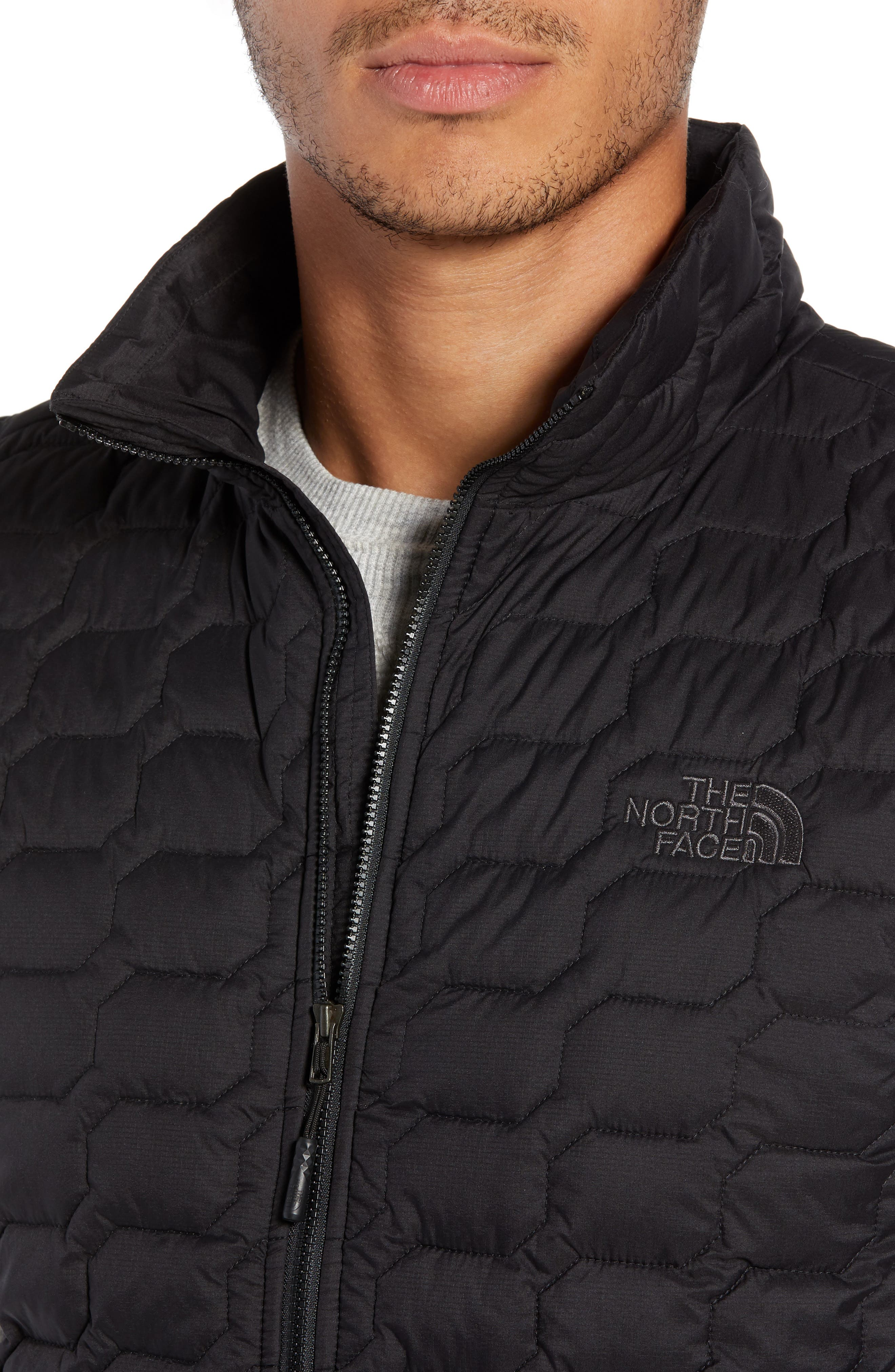 THE NORTH FACE, Thermoball<sup>®</sup> PrimaLoft<sup>®</sup> Vest, Alternate thumbnail 5, color, TNF BLACK MATTE
