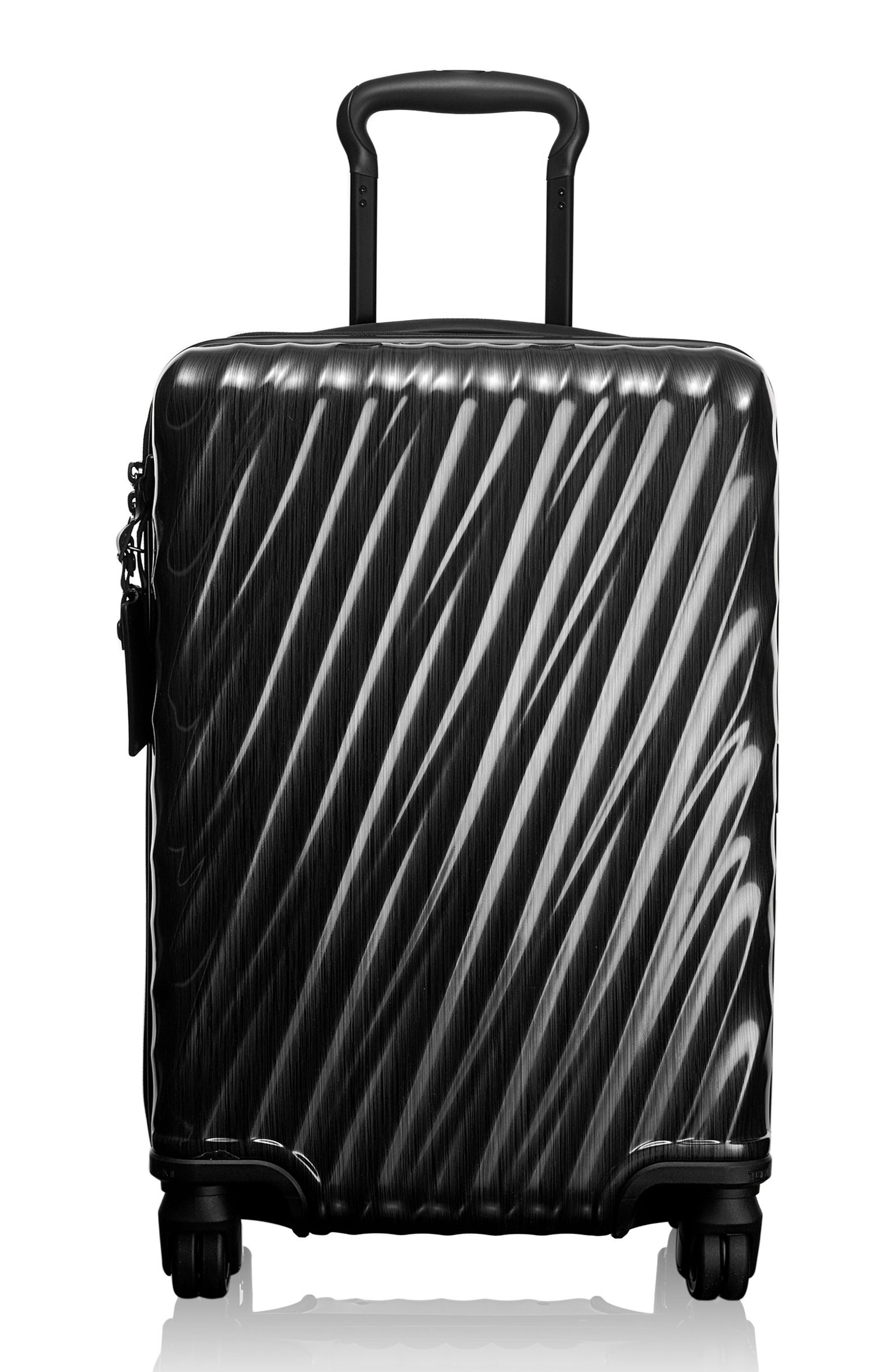 TUMI, 19 Degree 21-Inch International Wheeled Carry-On, Main thumbnail 1, color, 001
