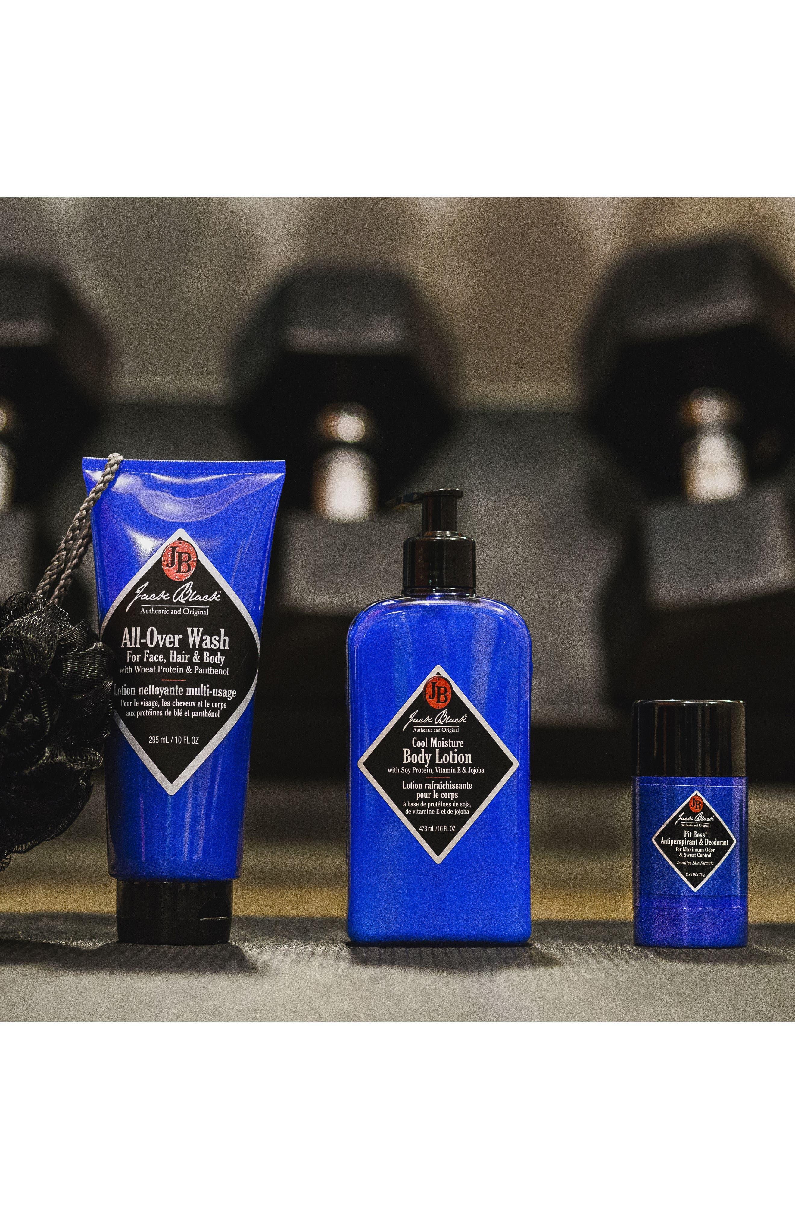 JACK BLACK, Clean & Cool Body Basics Kit, Alternate thumbnail 3, color, NO COLOR