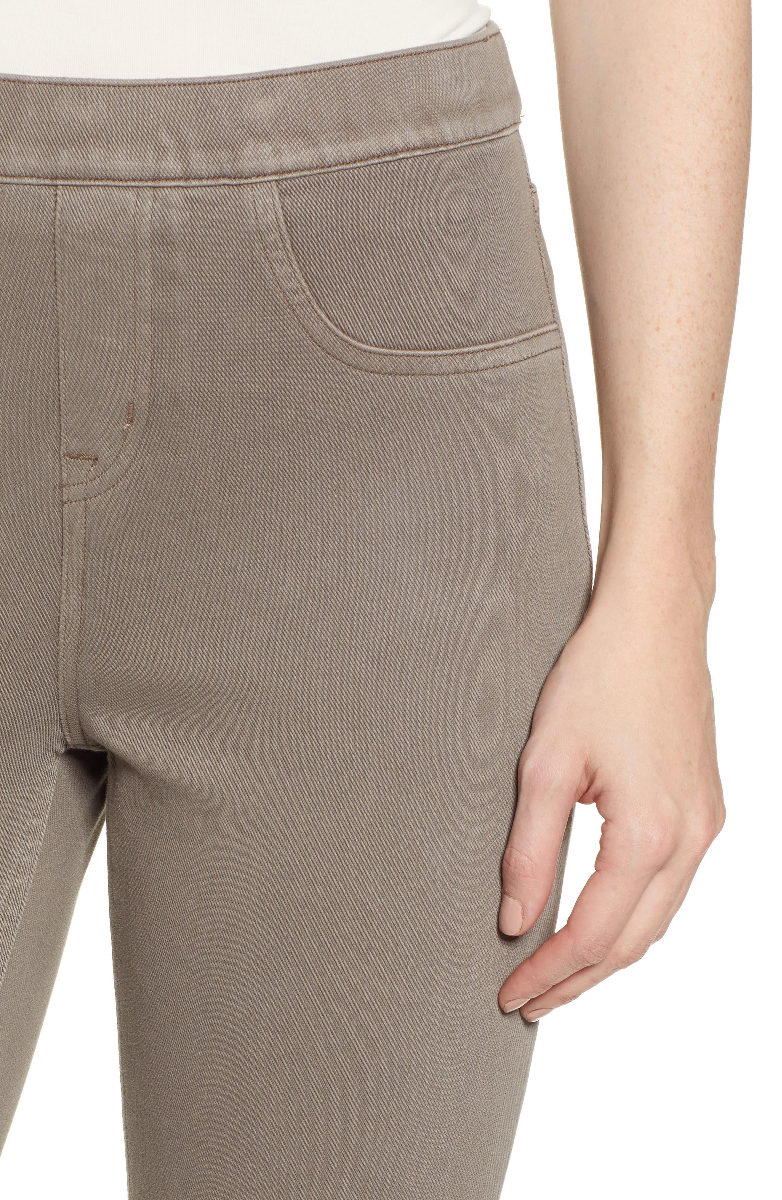 SPANX<SUP>®</SUP>, Jean-ish Leggings, Alternate thumbnail 5, color, EARTHY TAUPE