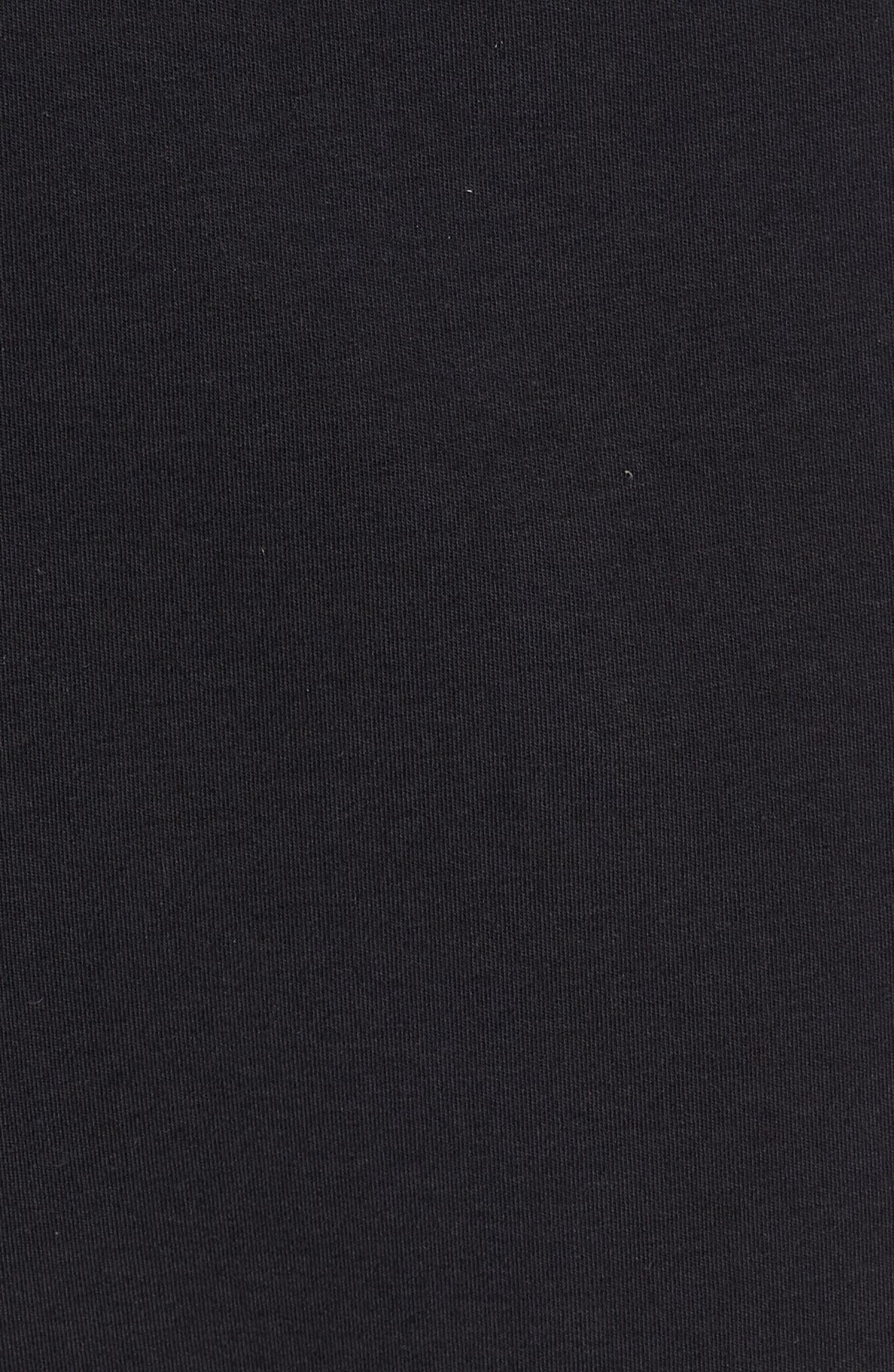 NIKE, Tech Knit Jogger Pants, Alternate thumbnail 6, color, BLACK/ BLACK