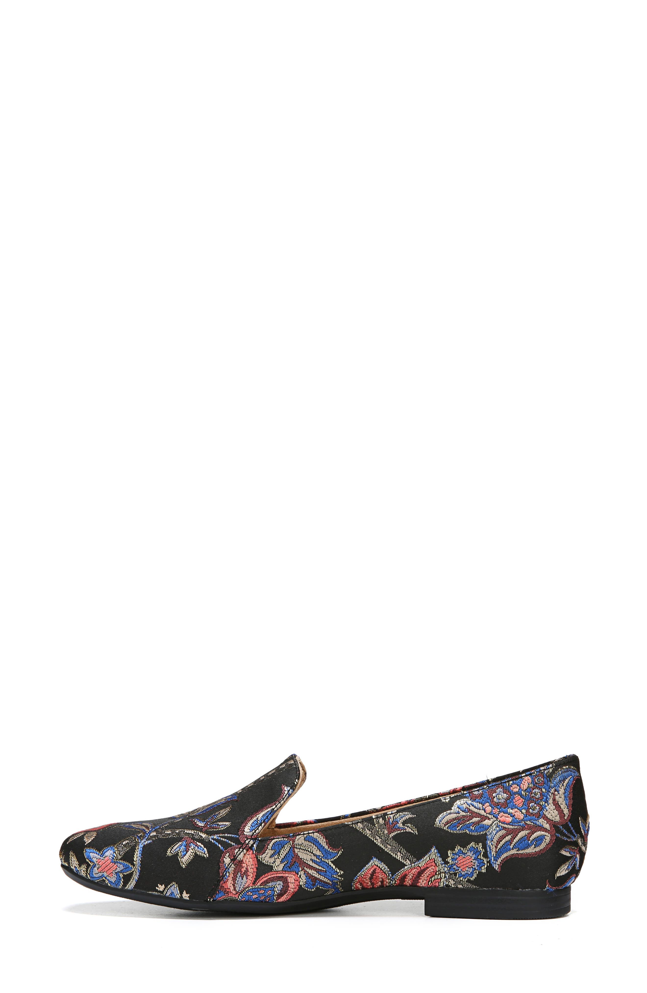 NATURALIZER, Emiline Flat Loafer, Alternate thumbnail 9, color, BROCADE