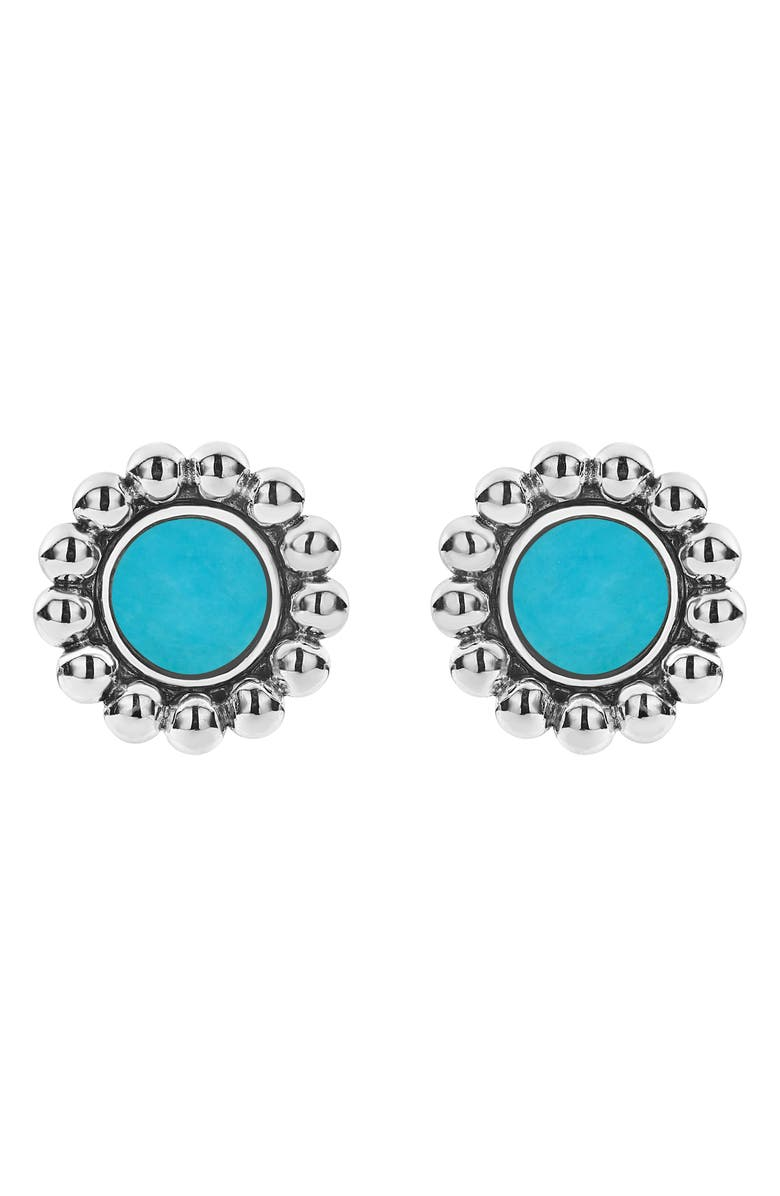 Lagos Accessories MAYA CIRCLE STUD EARRINGS