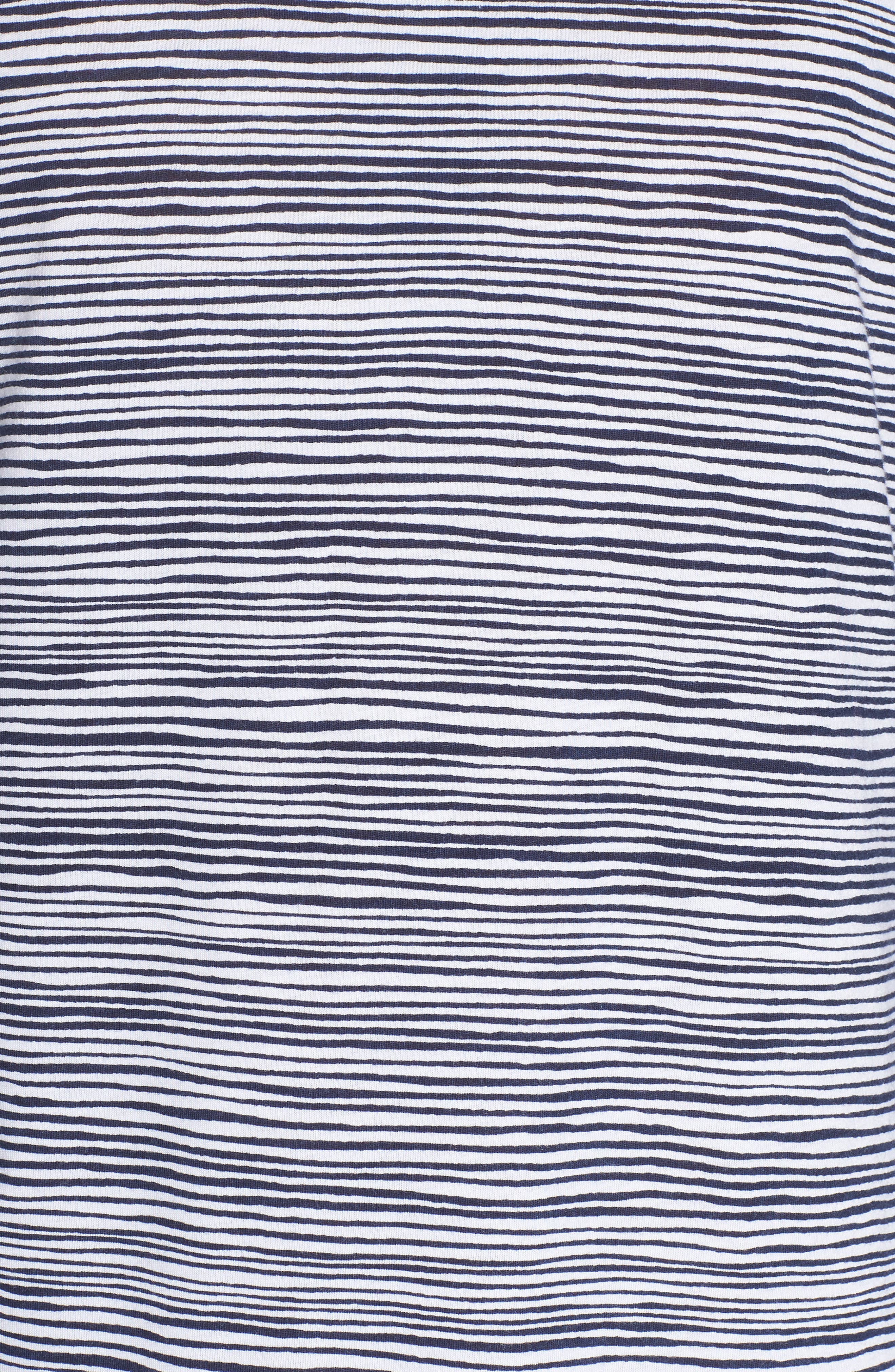 CHALMERS, Wednesday Sleep Shirt, Alternate thumbnail 5, color, PEN STRIPE