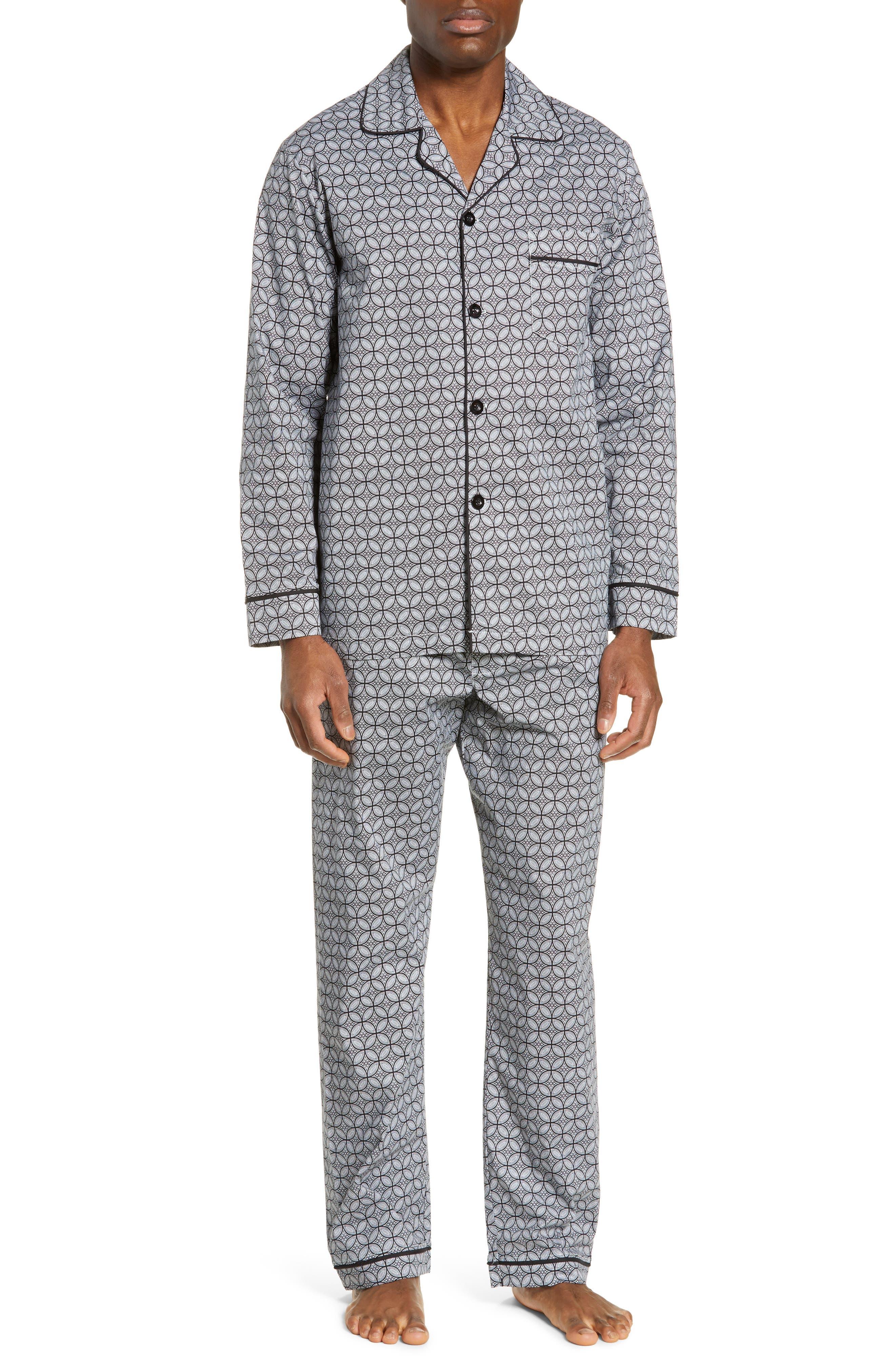 MAJESTIC INTERNATIONAL, Marbella Stretch Sateen Pajamas, Main thumbnail 1, color, BLACK