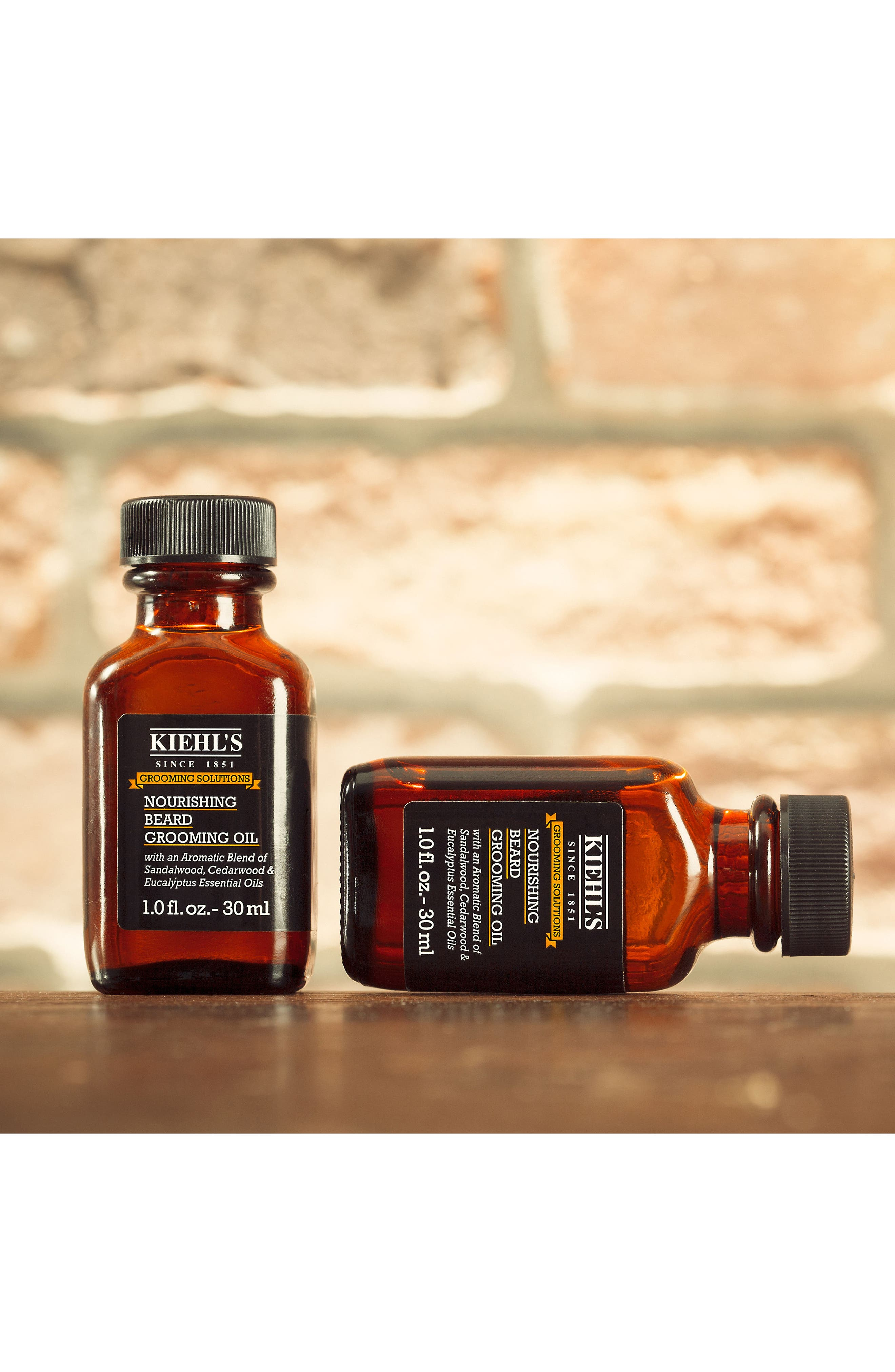 KIEHL'S SINCE 1851, Nourishing Beard Grooming Oil, Alternate thumbnail 4, color, NO COLOR