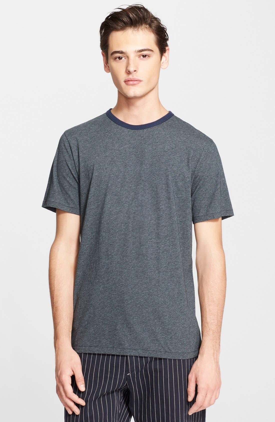 RAG & BONE, Ringer T-Shirt, Main thumbnail 1, color, 050
