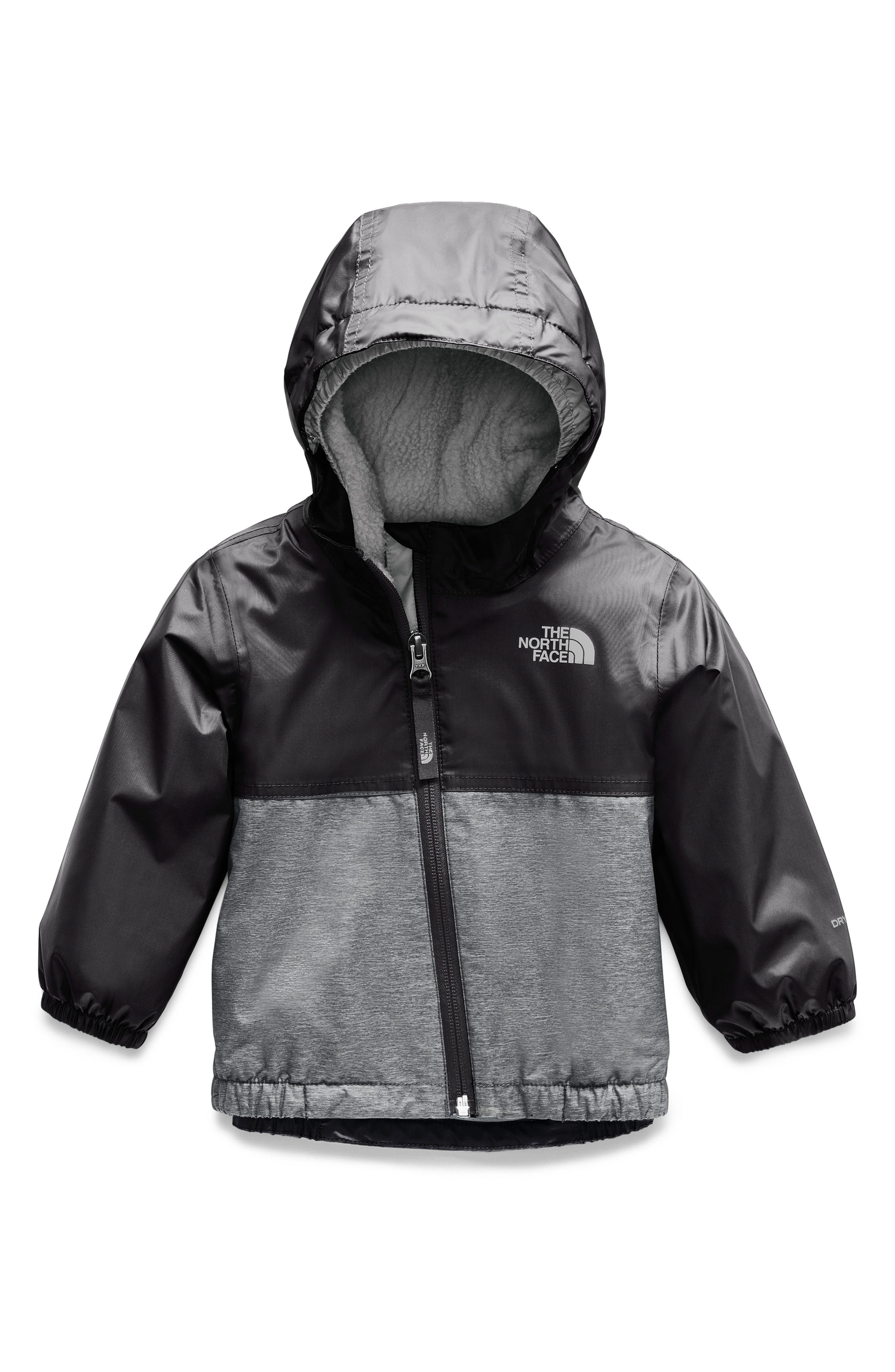 THE NORTH FACE, Warm Storm Waterproof Jacket, Main thumbnail 1, color, TNF BLACK
