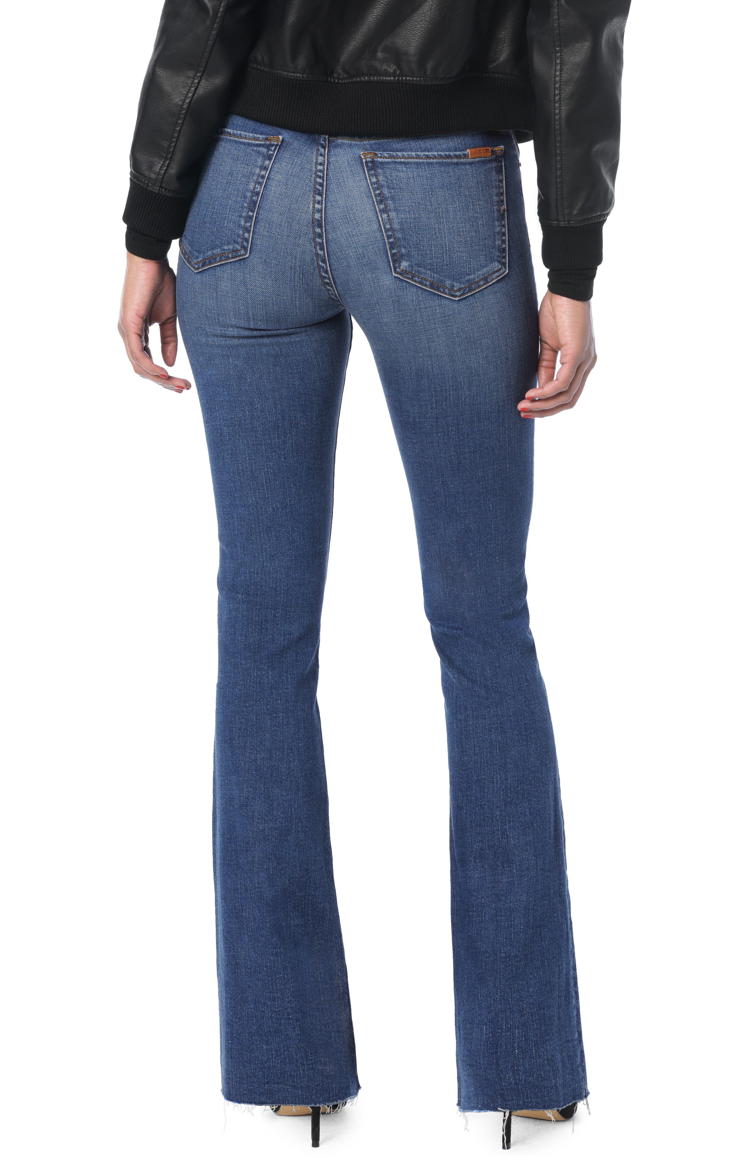 JOE'S, Joe's Hi Rise Honey Curvy Bootcut Jeans, Alternate thumbnail 2, color, KAHLO