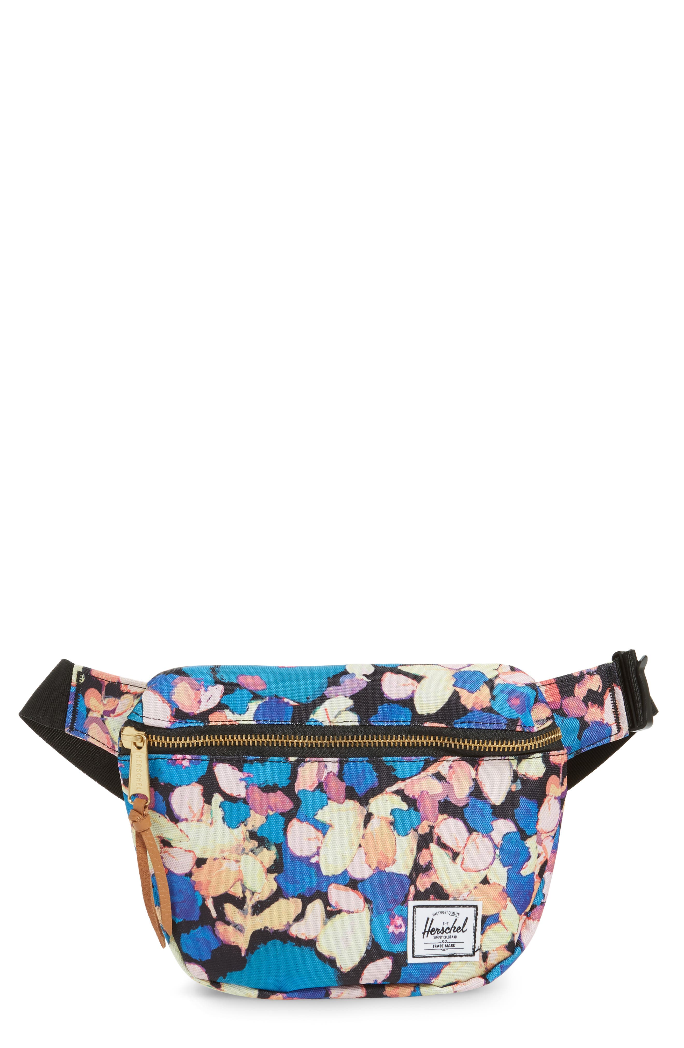 HERSCHEL SUPPLY CO., Fifteen Belt Bag, Main thumbnail 1, color, PAINTED FLORAL