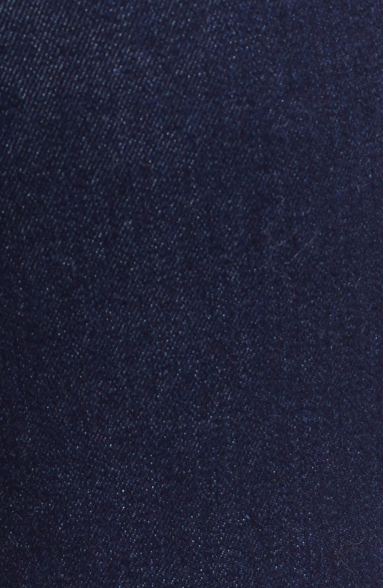 TINSEL, High Waist Skinny Jeans, Alternate thumbnail 6, color, 401