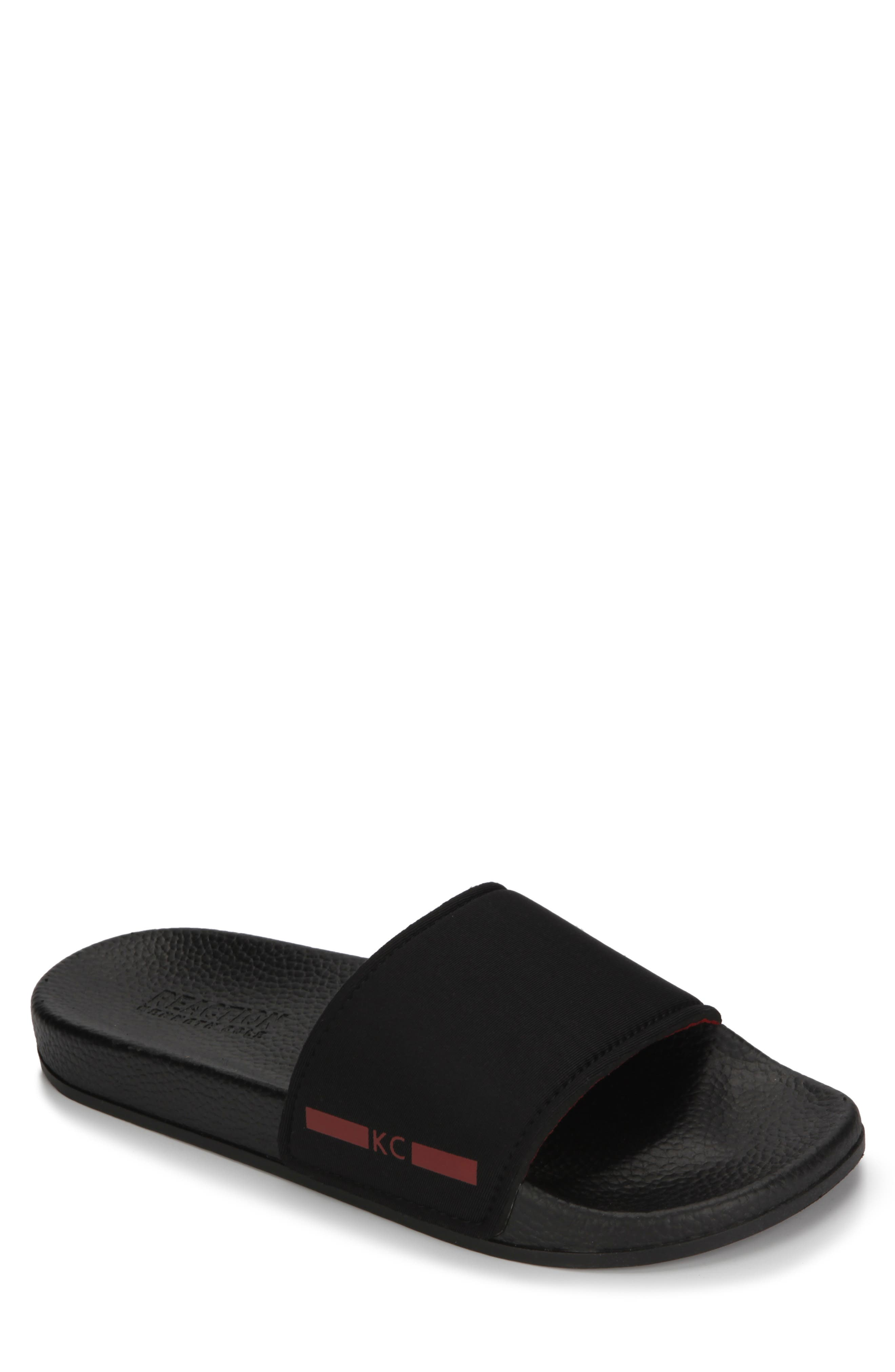 REACTION KENNETH COLE, Screen Slide, Main thumbnail 1, color, BLACK/ RED