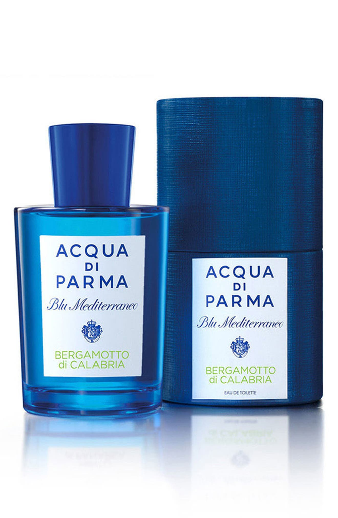 ACQUA DI PARMA, 'Blu Mediterraneo' Bergamotto di Calabria Eau de Toilette Spray, Alternate thumbnail 5, color, NO COLOR
