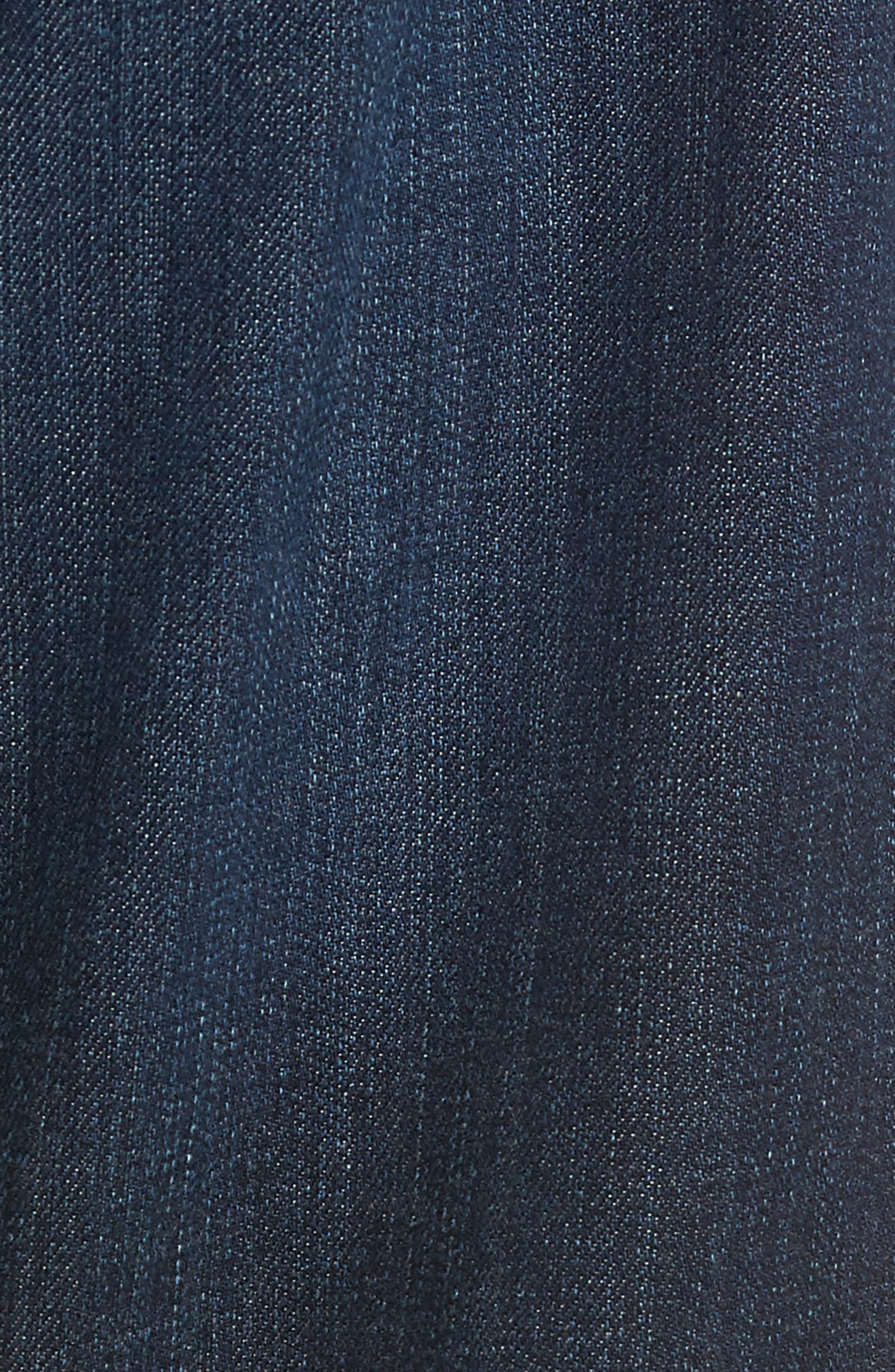 AG, Ives Straight Fit Jeans, Alternate thumbnail 6, color, PATTERSON