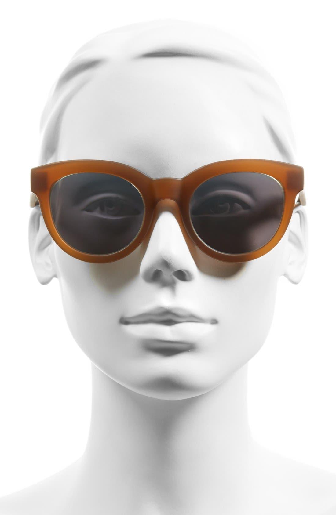 TOMS, 'Florentin' 54mm Retro Sunglasses, Alternate thumbnail 2, color, 200