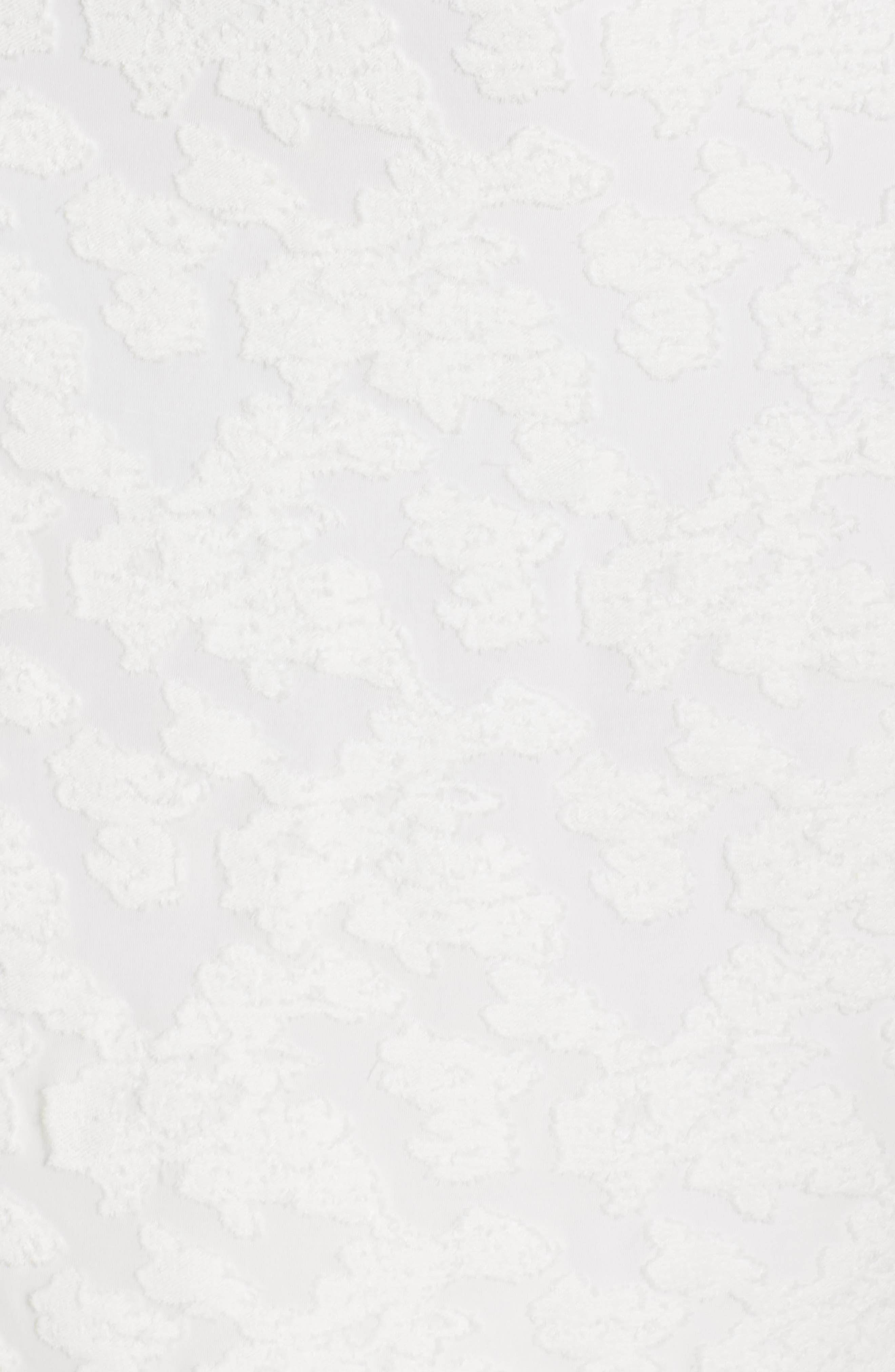 ALI & JAY, Big Mistake Short Sleeve Sheath Dress, Alternate thumbnail 6, color, WHITE FLORAL