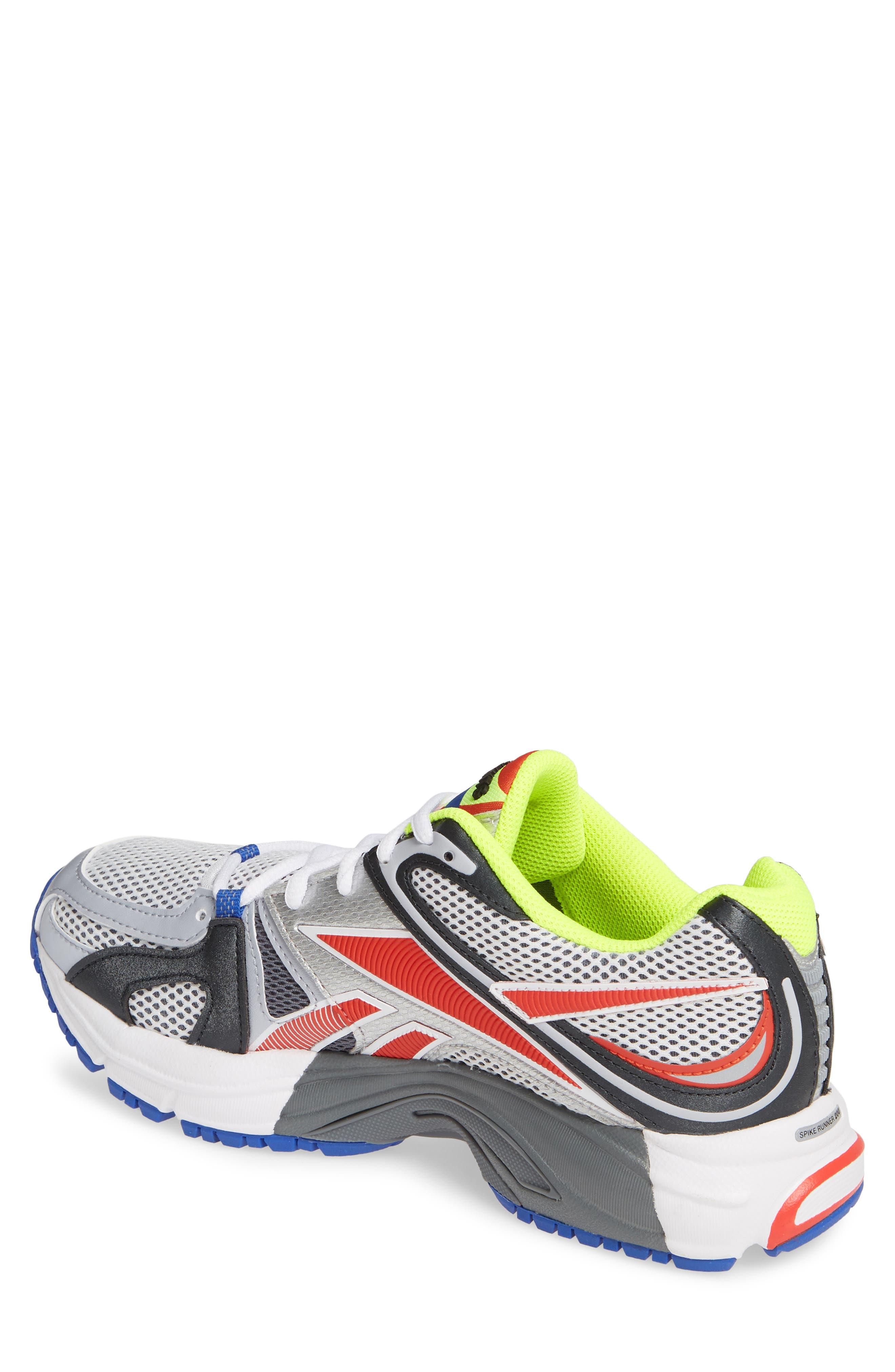 VETEMENTS, x Reebok Spike Runner 200 Sneaker, Alternate thumbnail 2, color, FLUO YELLOW