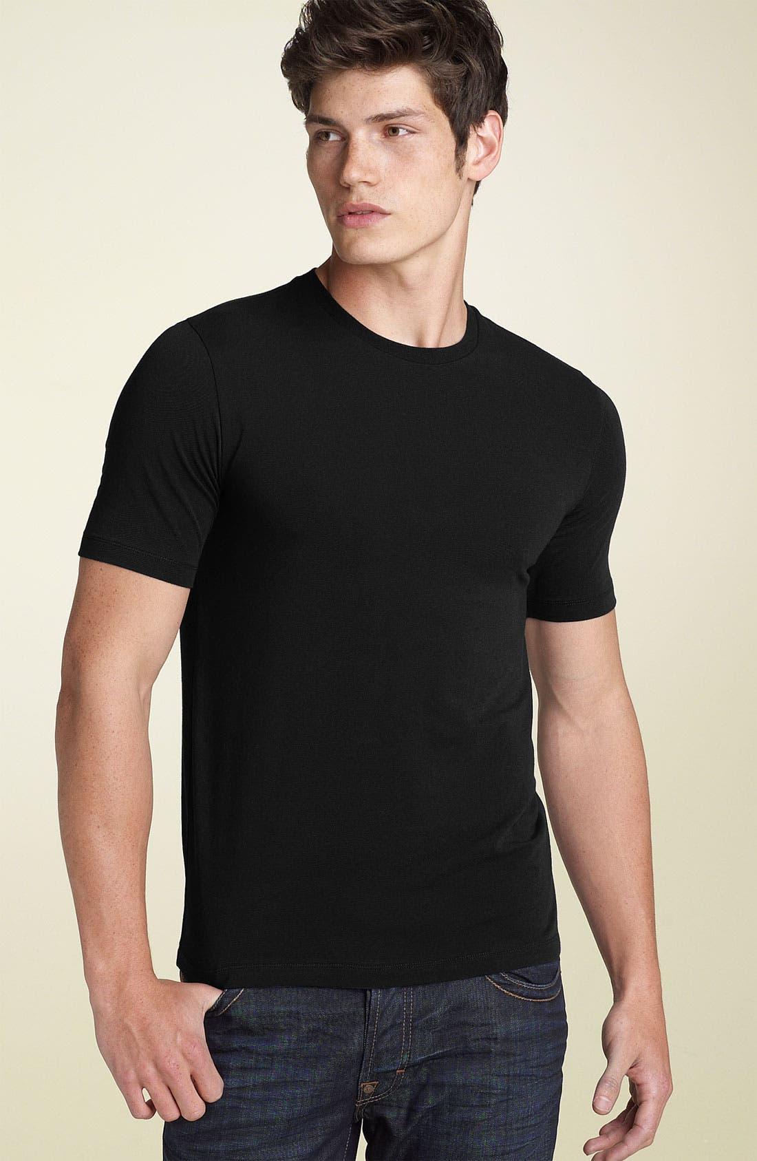 ZZDNUHUGO BOSS HUGO 'Naroolo' Trim Fit Crewneck T-Shirt, Main, color, 001