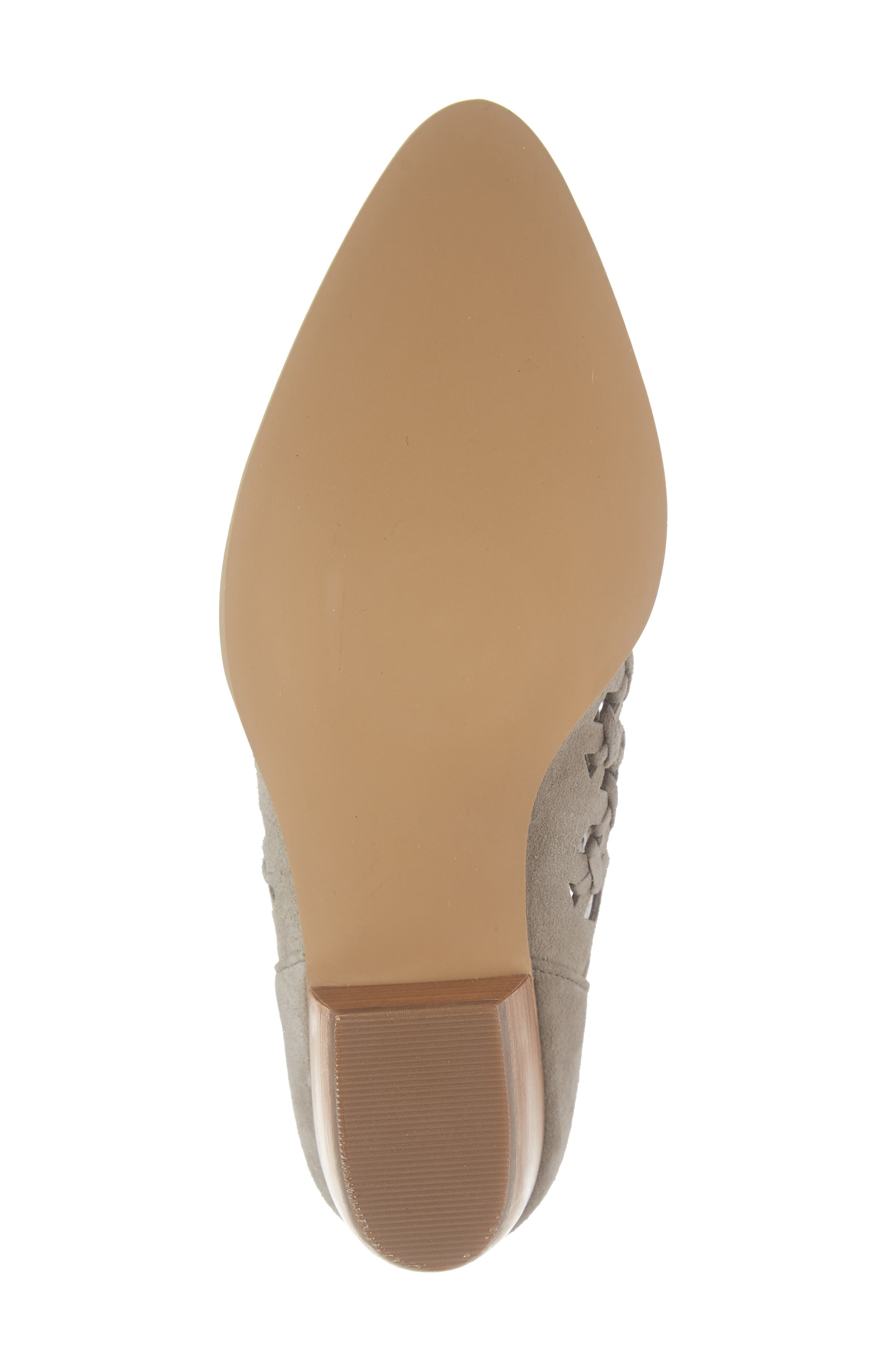 BP., Tate Bootie, Alternate thumbnail 6, color, TAUPE SUEDE