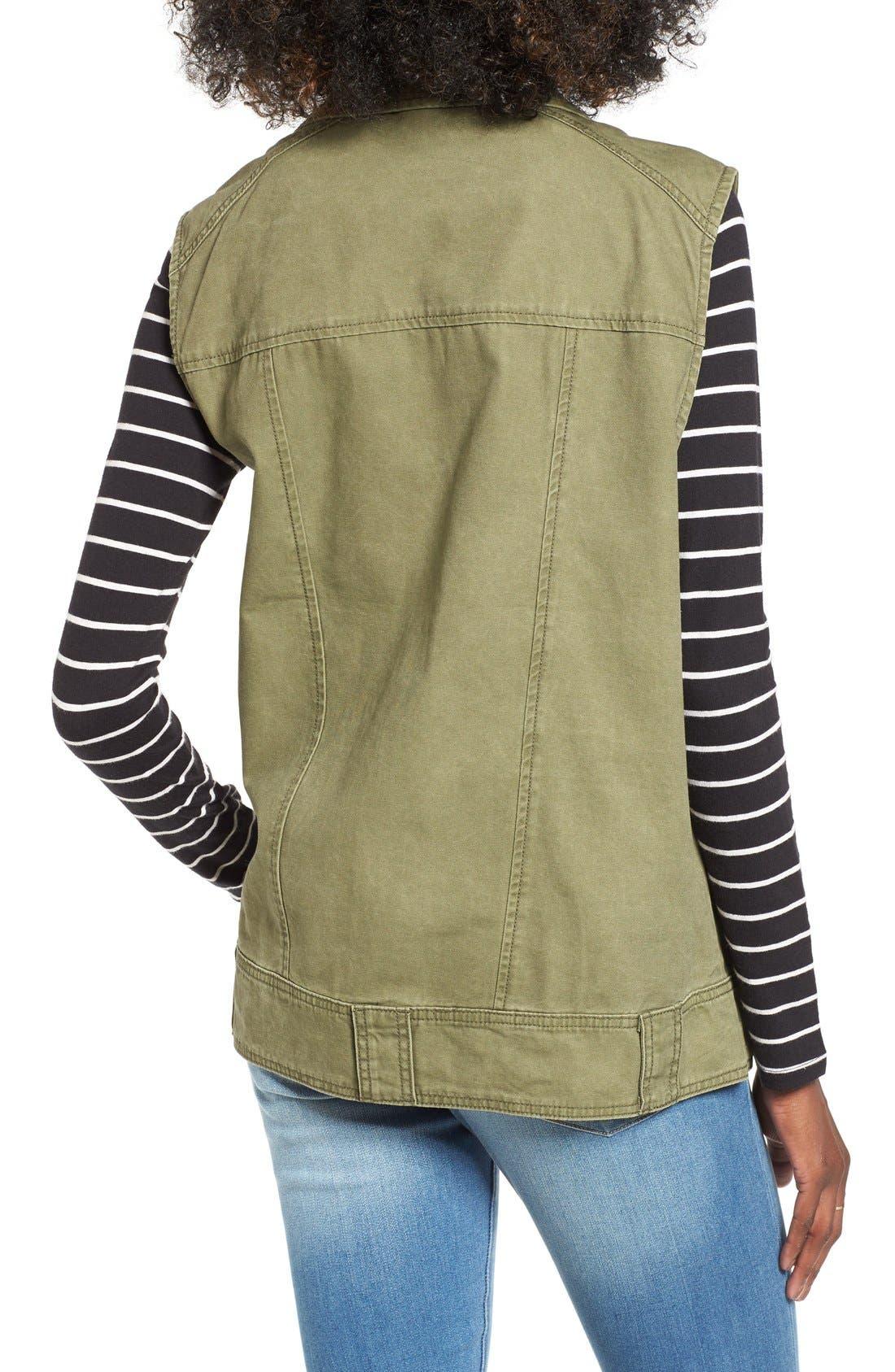 BP., Cotton Moto Vest, Alternate thumbnail 5, color, 312