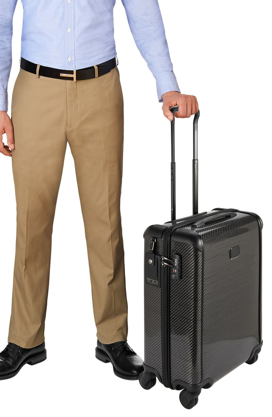 TUMI, 'Tegra-Lite<sup>™</sup>' Continental Carry-On, Alternate thumbnail 6, color, 006