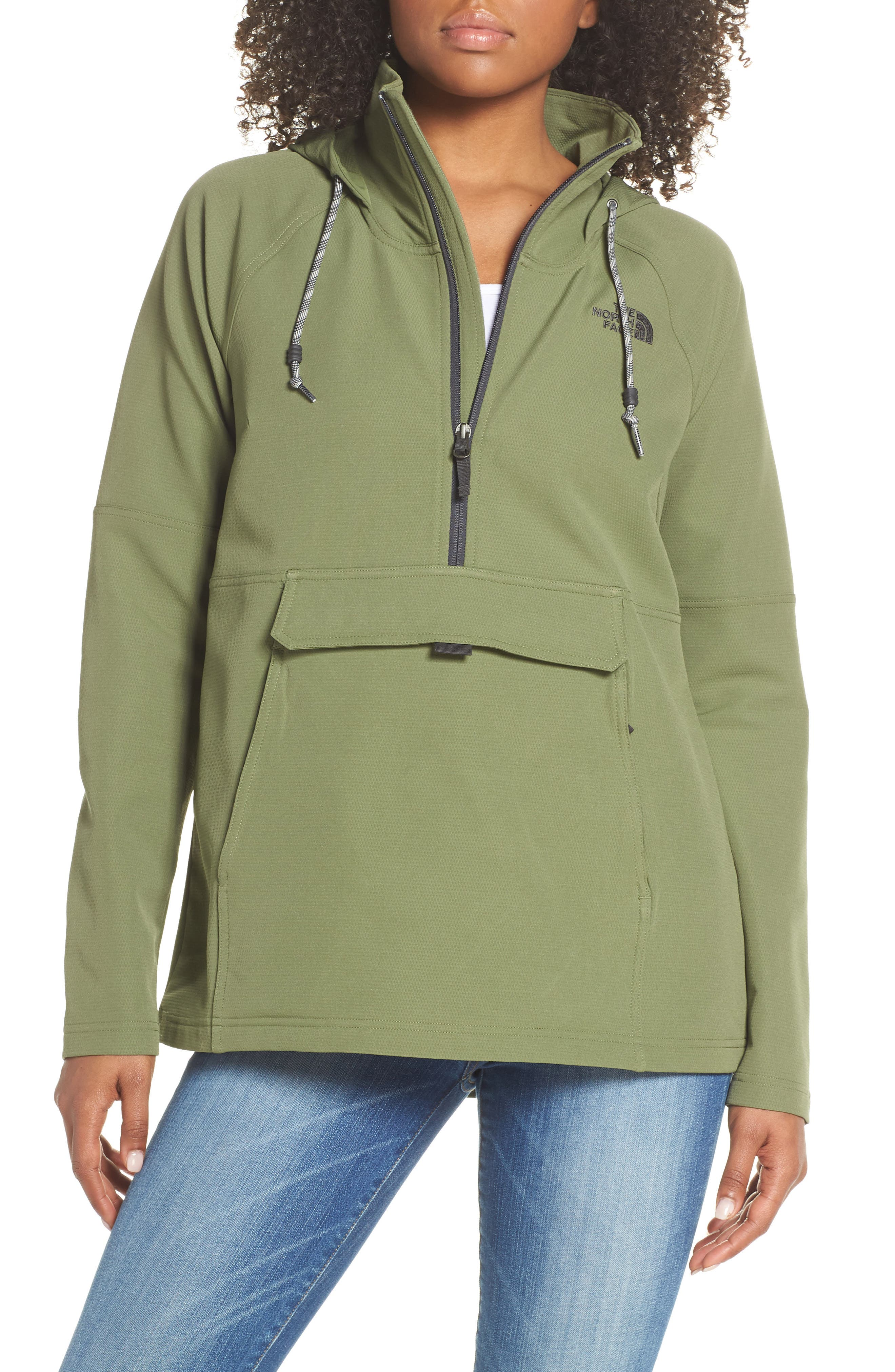THE NORTH FACE, Tekno Ridge Hoodie, Main thumbnail 1, color, FOUR LEAF CLOVER